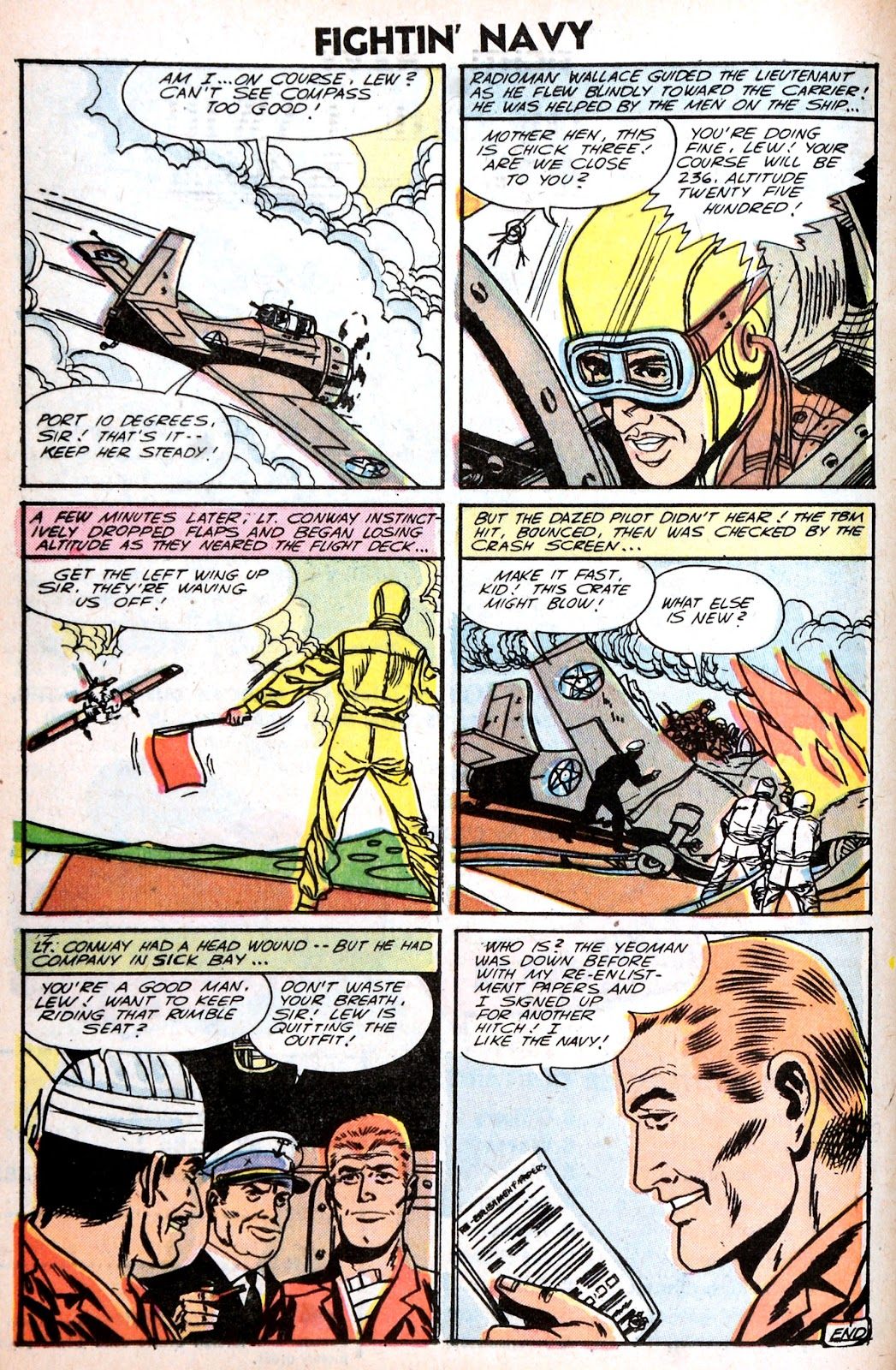 Read online Fightin' Navy comic -  Issue #75 - 16
