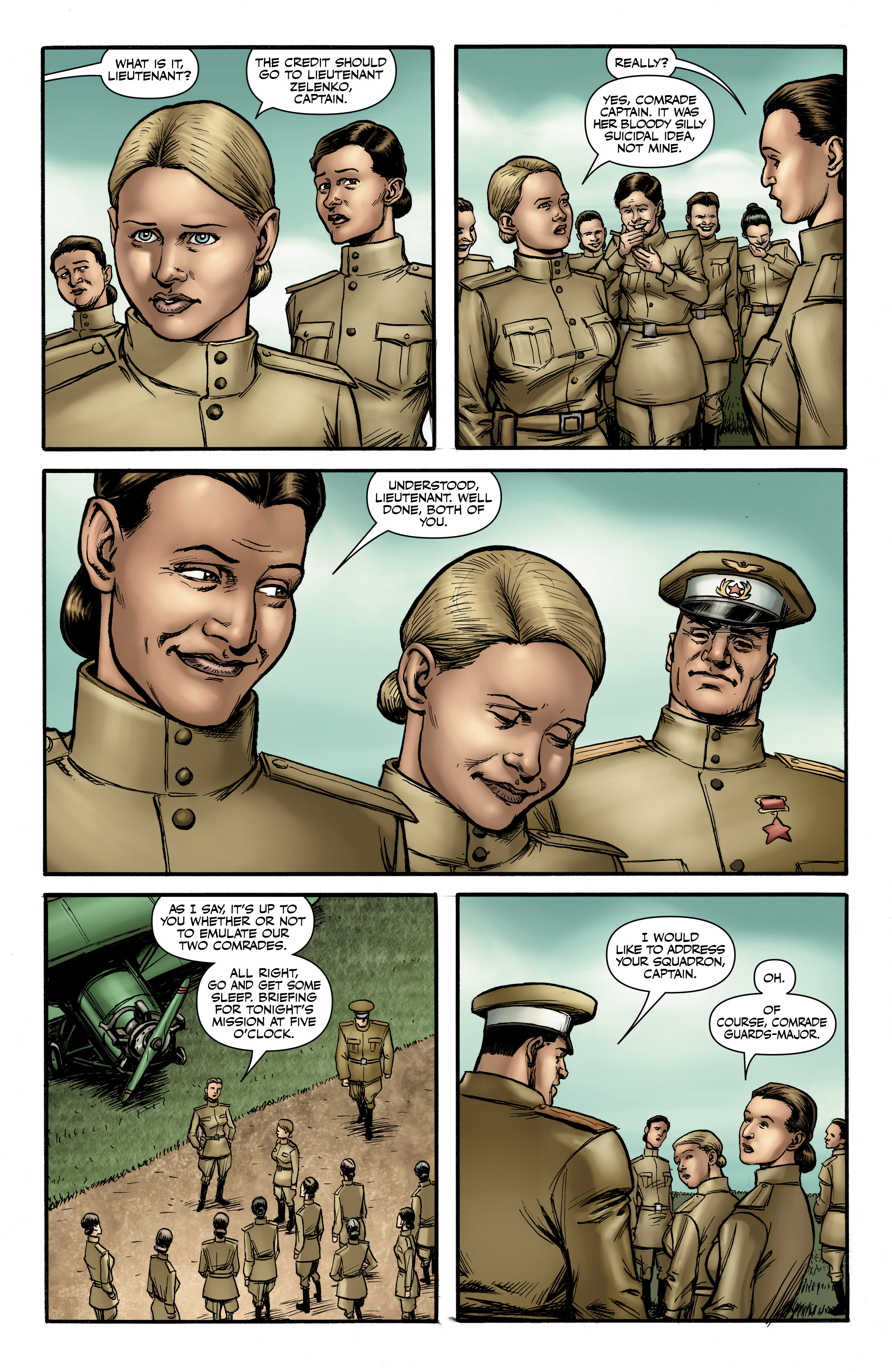 Read online Battlefields: Night Witches comic -  Issue # TPB - 32