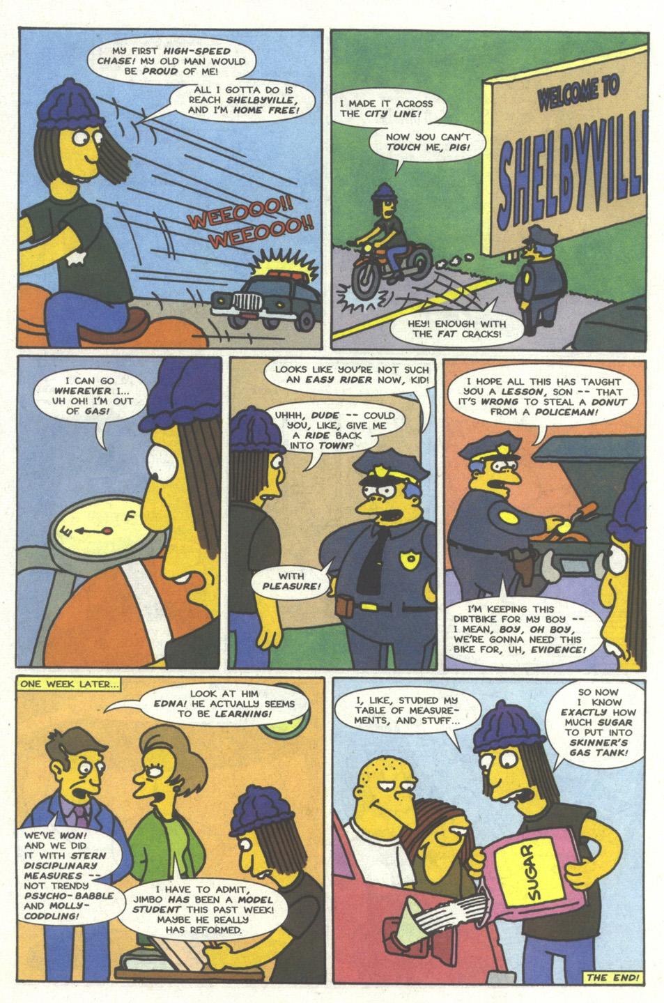 Read online Simpsons Comics comic -  Issue #13 - 32