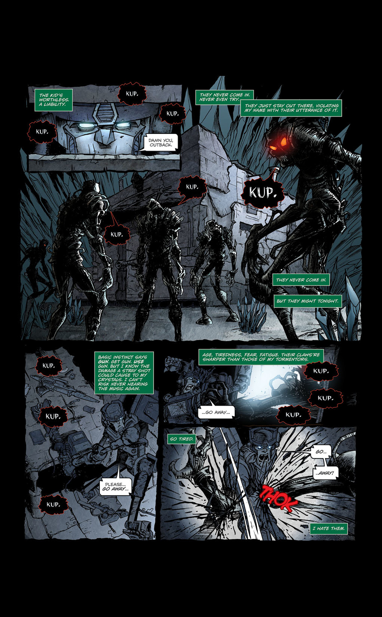 Read online Transformers Spotlight: Kup comic -  Issue # Full - 13