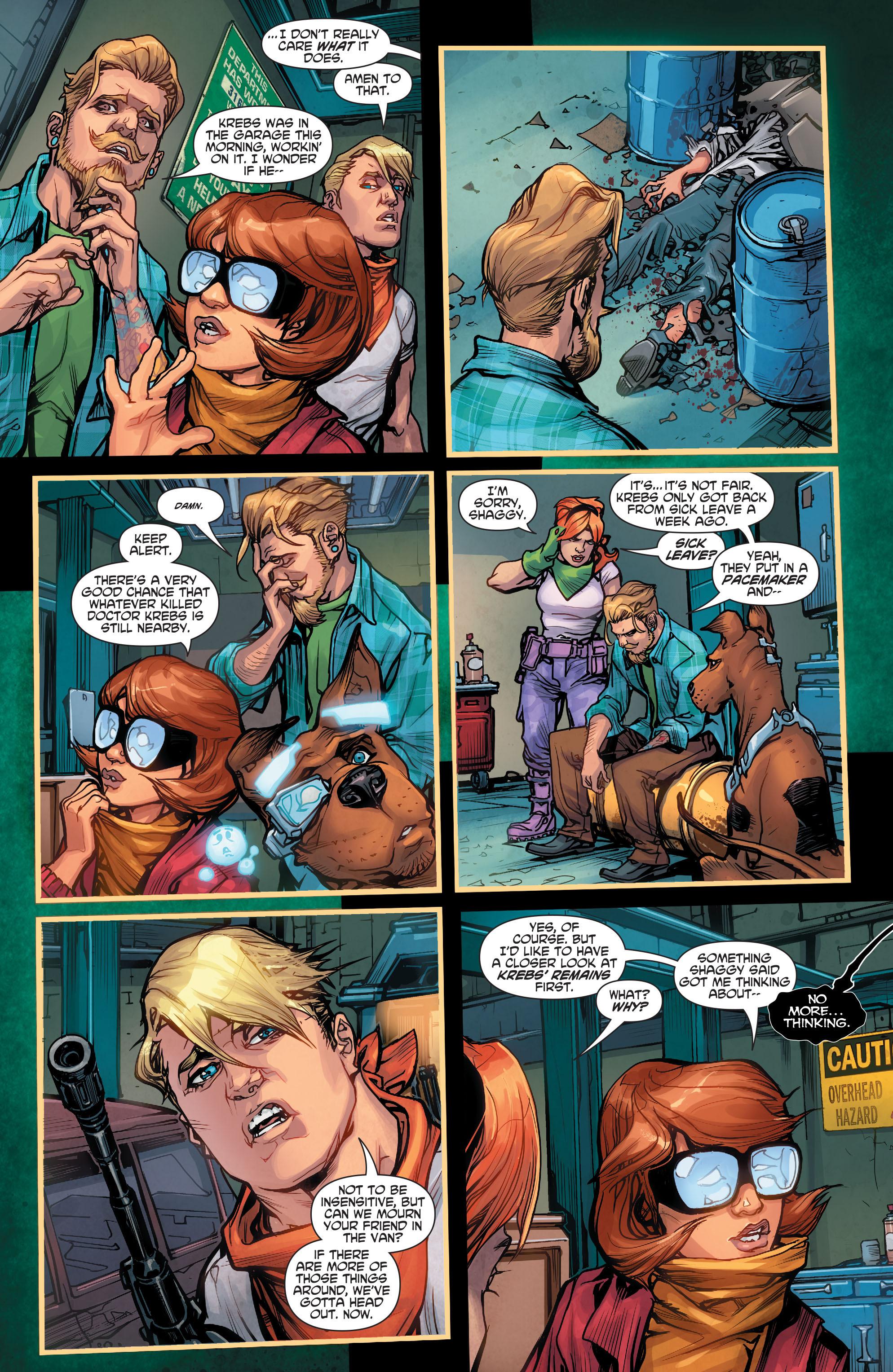 Read online Scooby Apocalypse comic -  Issue #2 - 24