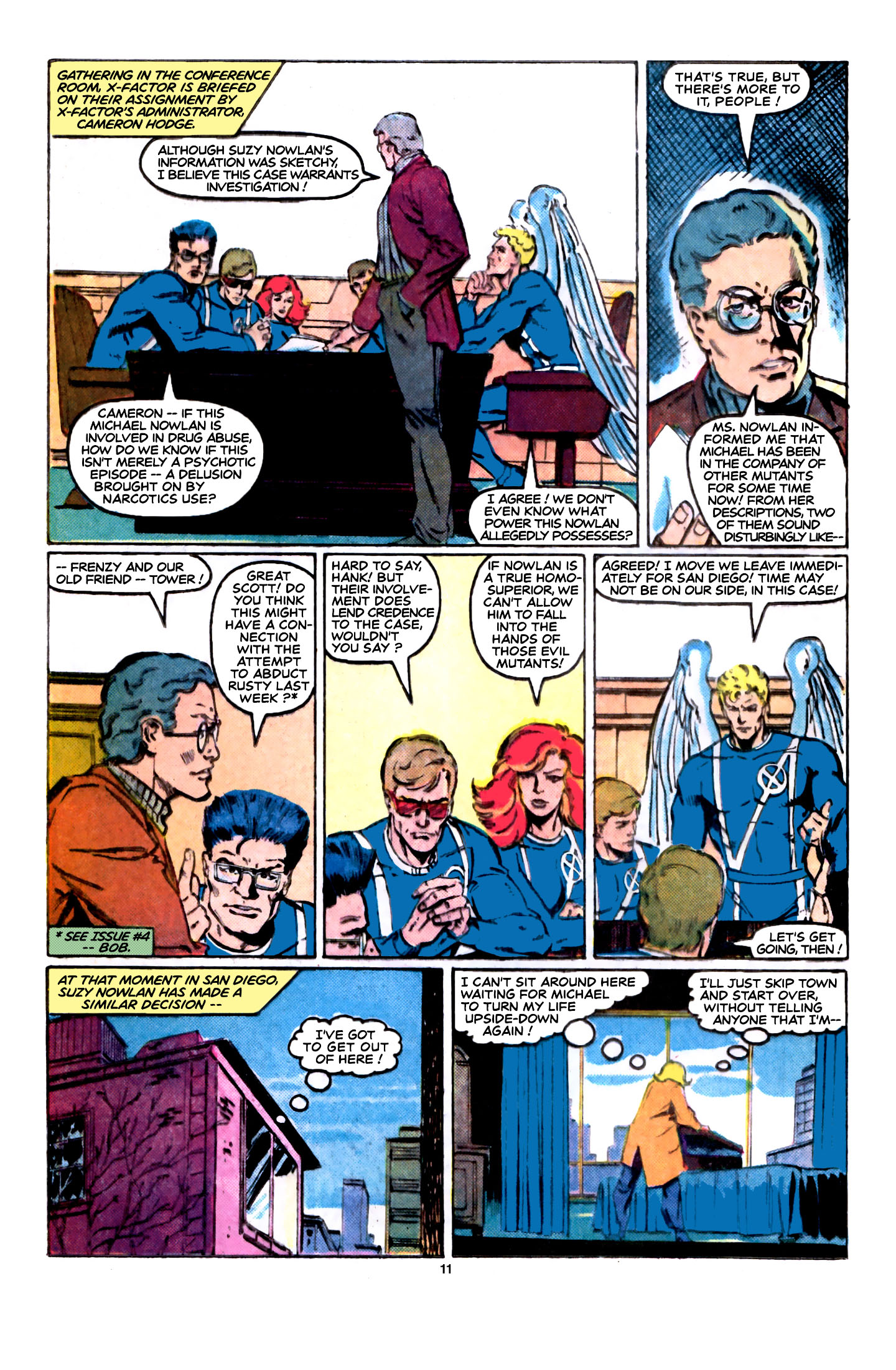 Read online X-Factor (1986) comic -  Issue #5 - 12