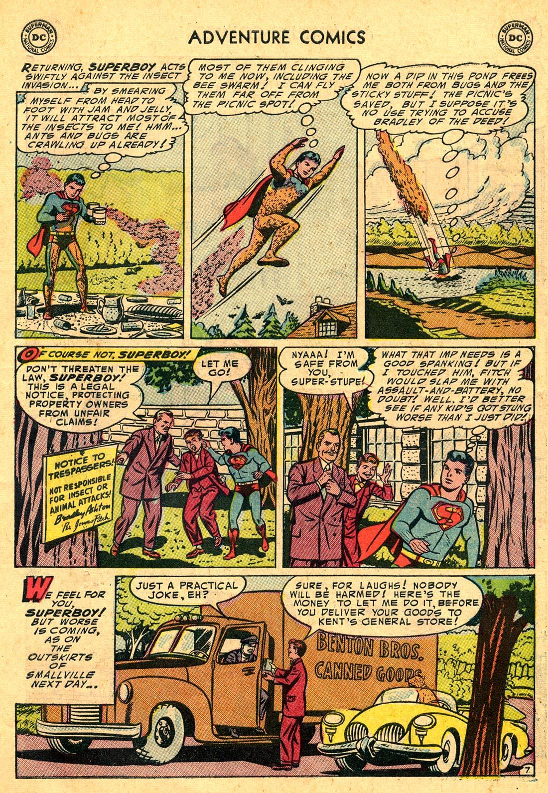 Read online Adventure Comics (1938) comic -  Issue #204 - 9