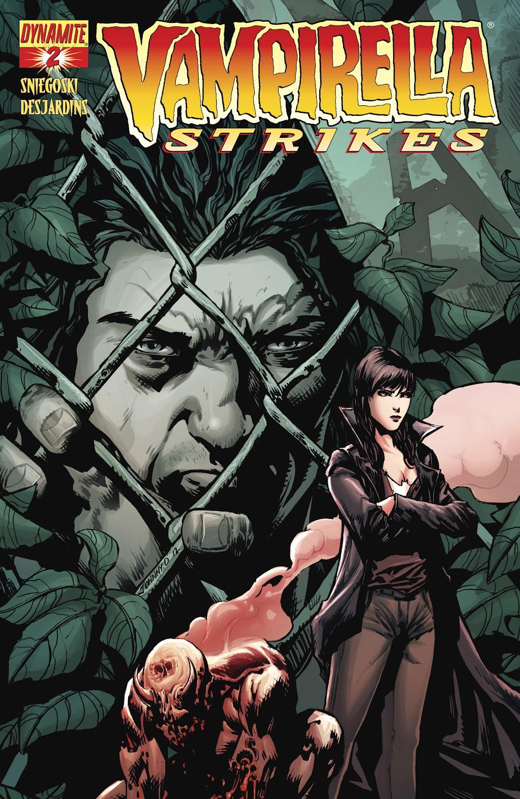 Read online Vampirella Strikes comic -  Issue #2 - 1
