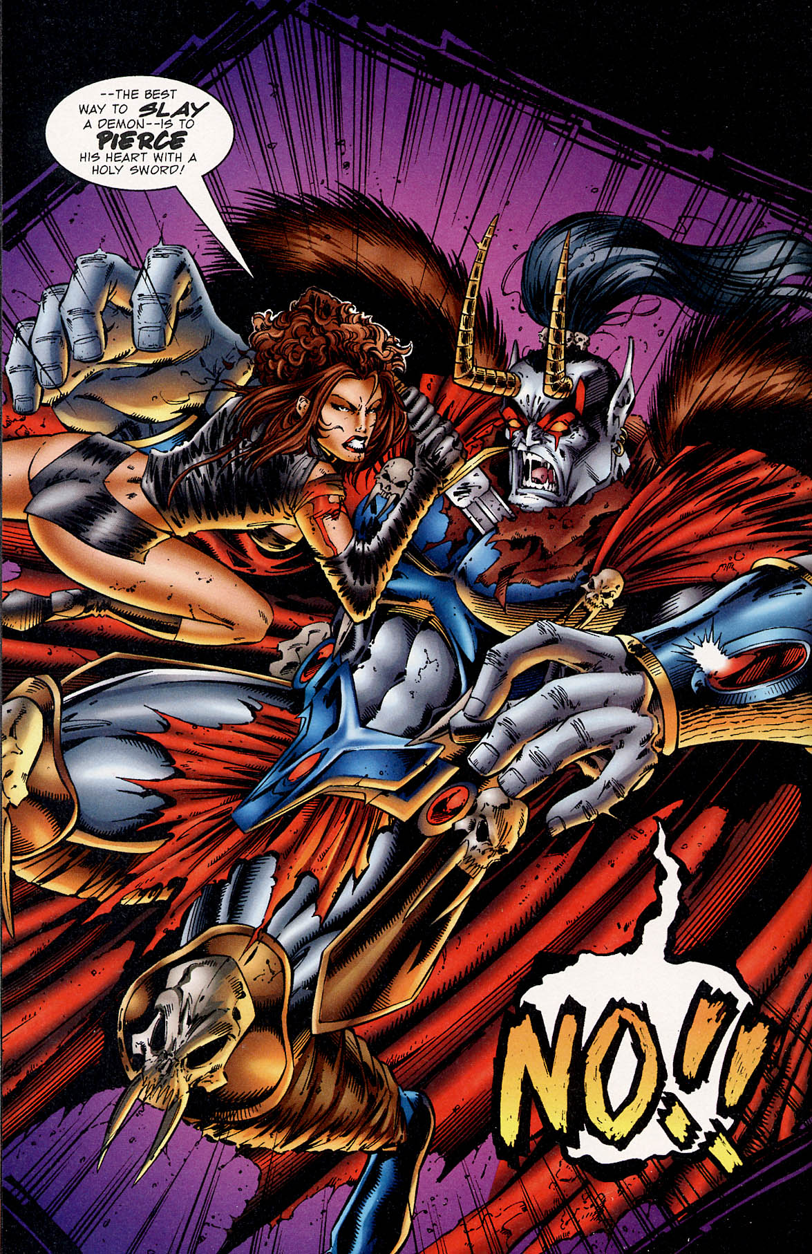 Read online Avengelyne (1995) comic -  Issue #3 - 22