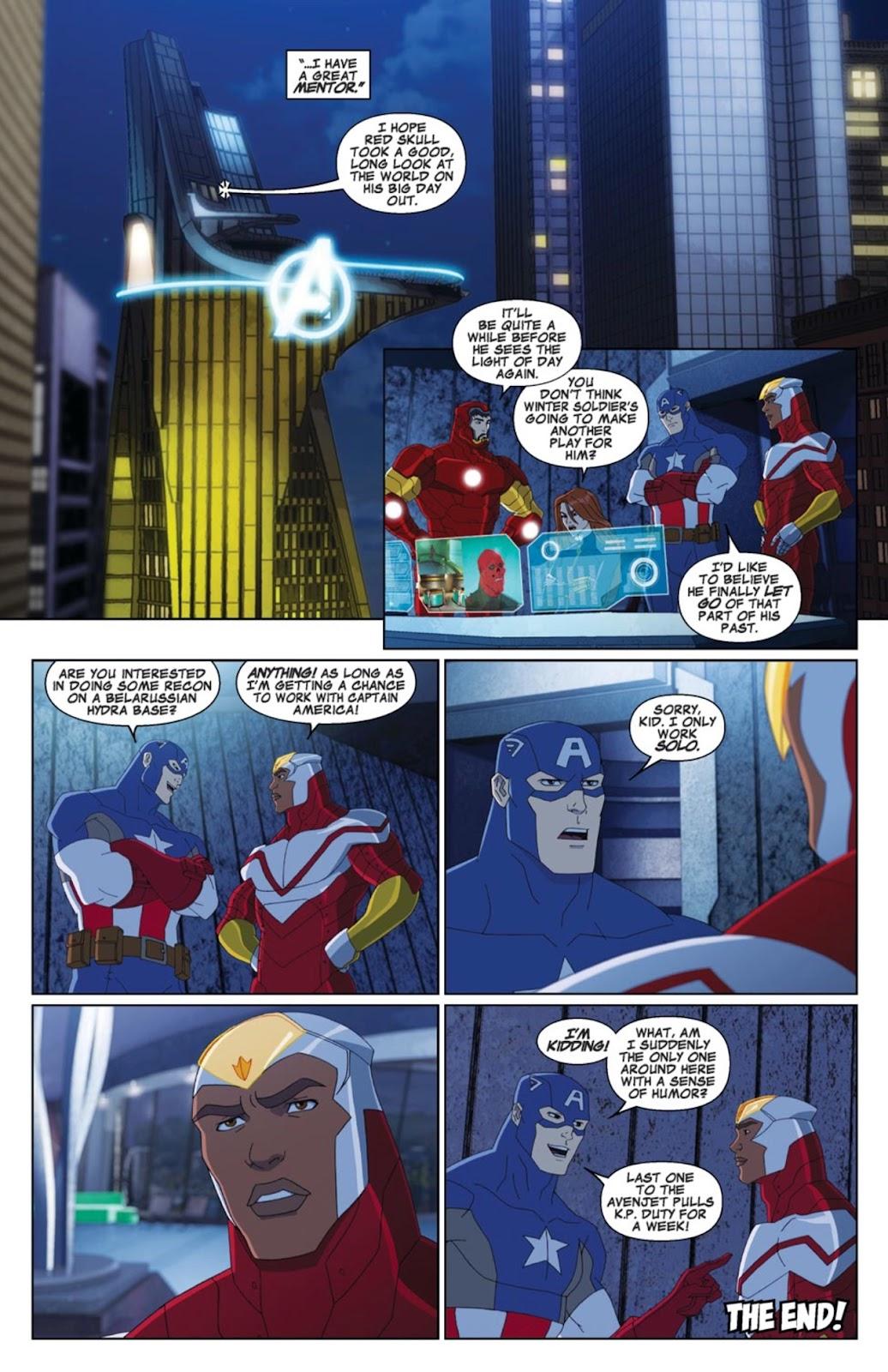 Read online Marvel Universe Avengers Assemble Season 2 comic -  Issue #4 - 22