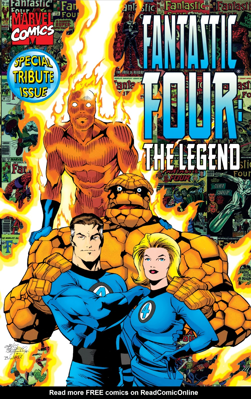 Read online Fantastic Four: The Legend comic -  Issue # Full - 1