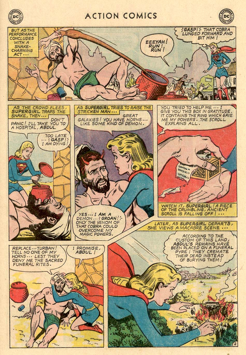 Read online Action Comics (1938) comic -  Issue #324 - 21