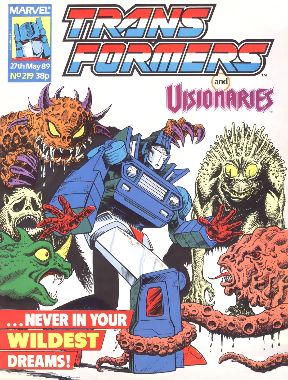 The Transformers (UK) 219 Page 1