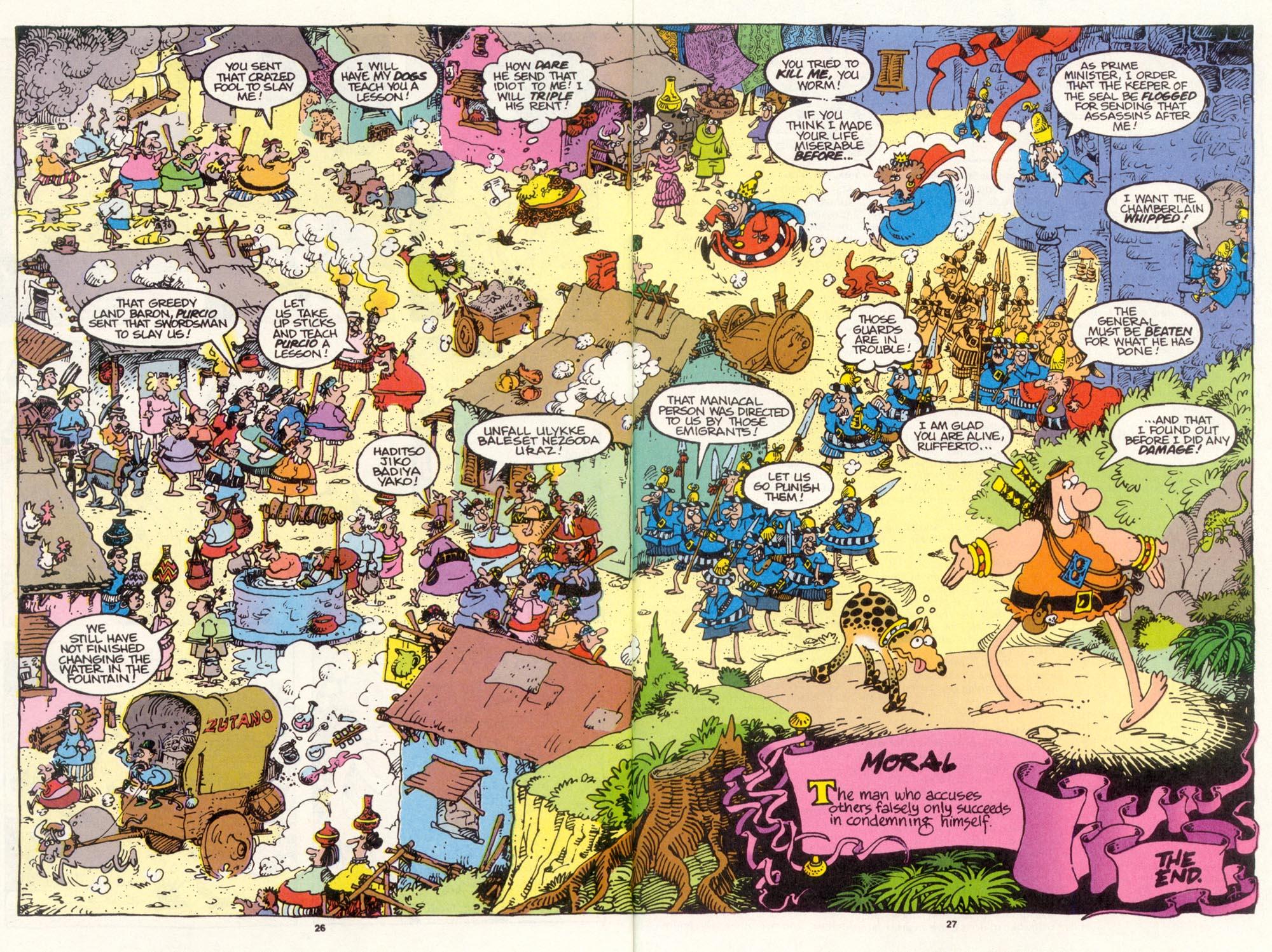 Read online Sergio Aragonés Groo the Wanderer comic -  Issue #112 - 28