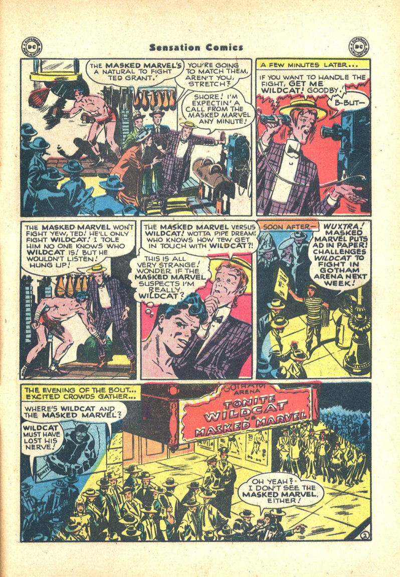 Read online Sensation (Mystery) Comics comic -  Issue #68 - 43
