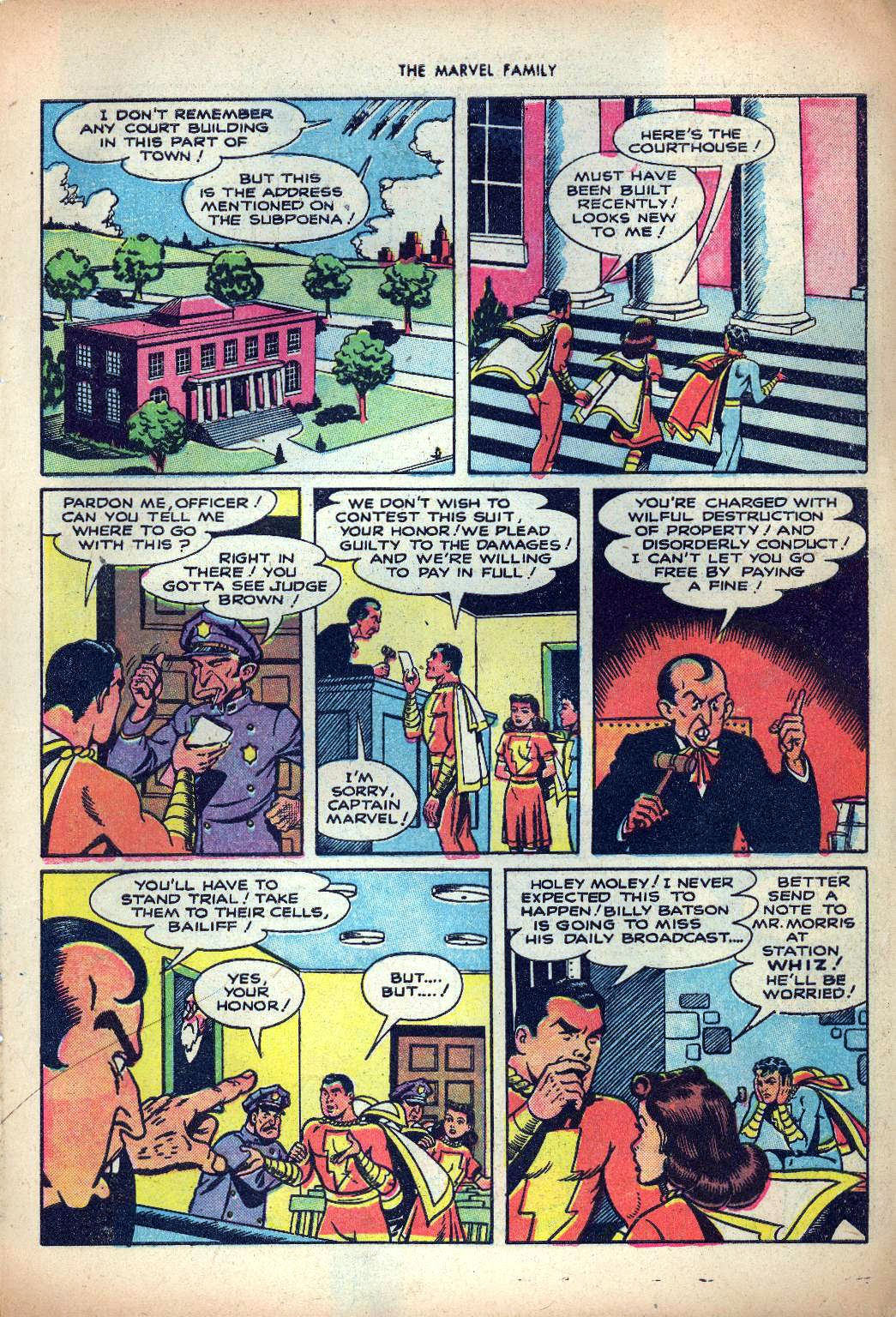 The Marvel Family issue 25 - Page 7