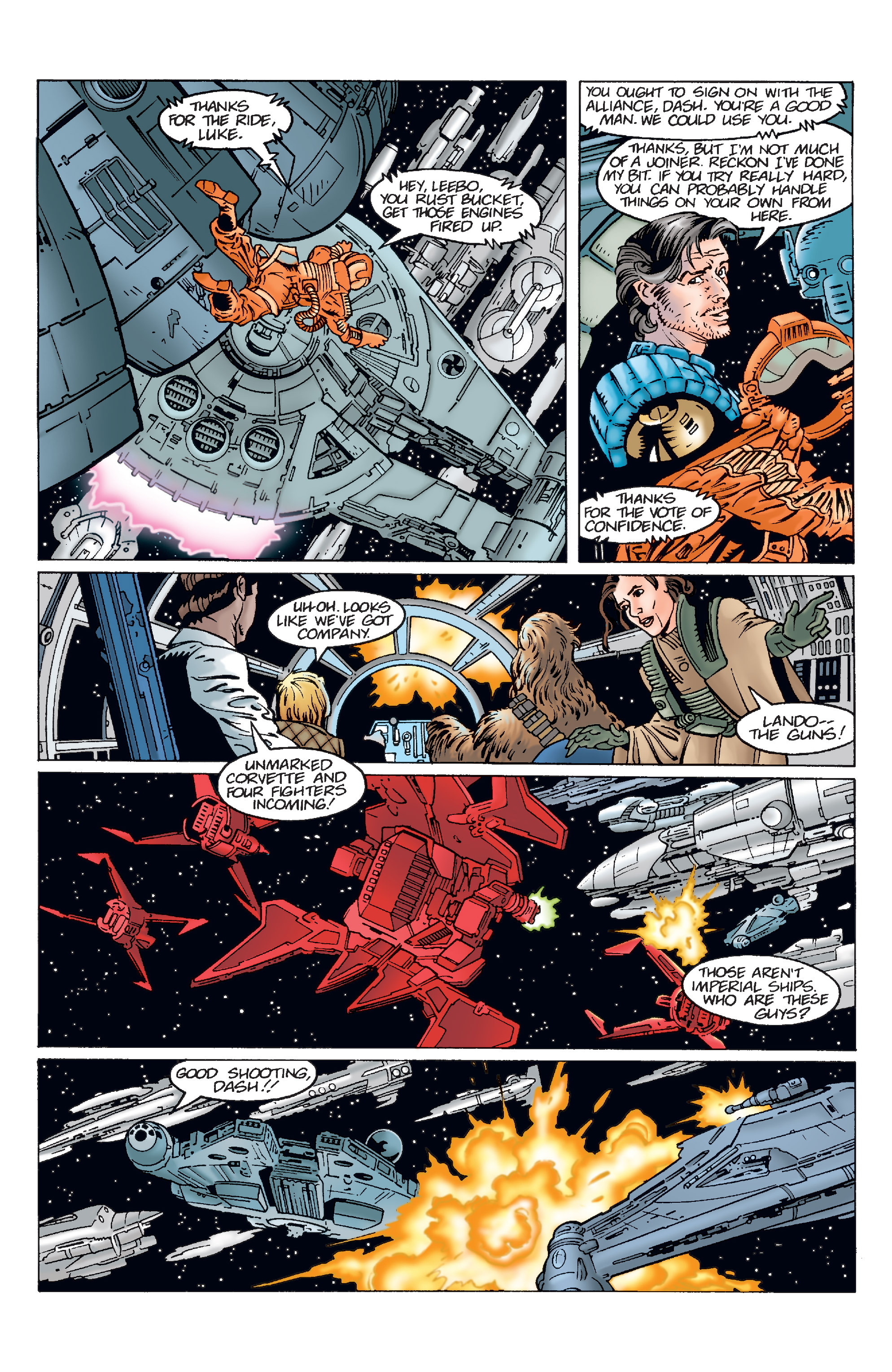 Read online Star Wars Omnibus comic -  Issue # Vol. 11 - 141