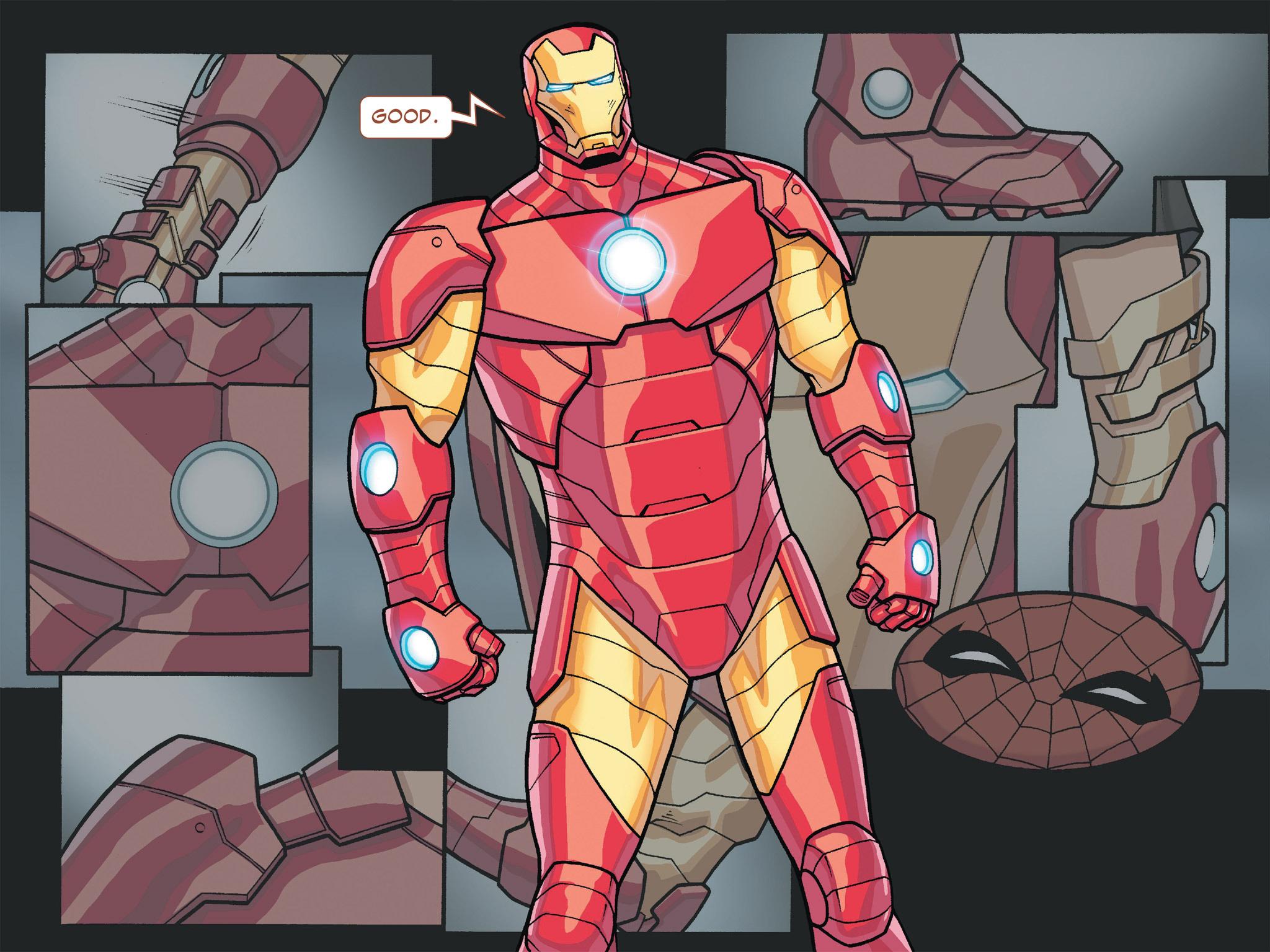 Read online Ultimate Spider-Man (Infinite Comics) (2016) comic -  Issue #4 - 21