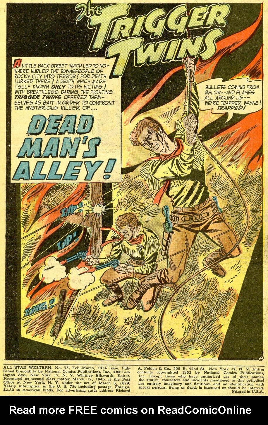 Read online All-Star Western (1951) comic -  Issue #75 - 3