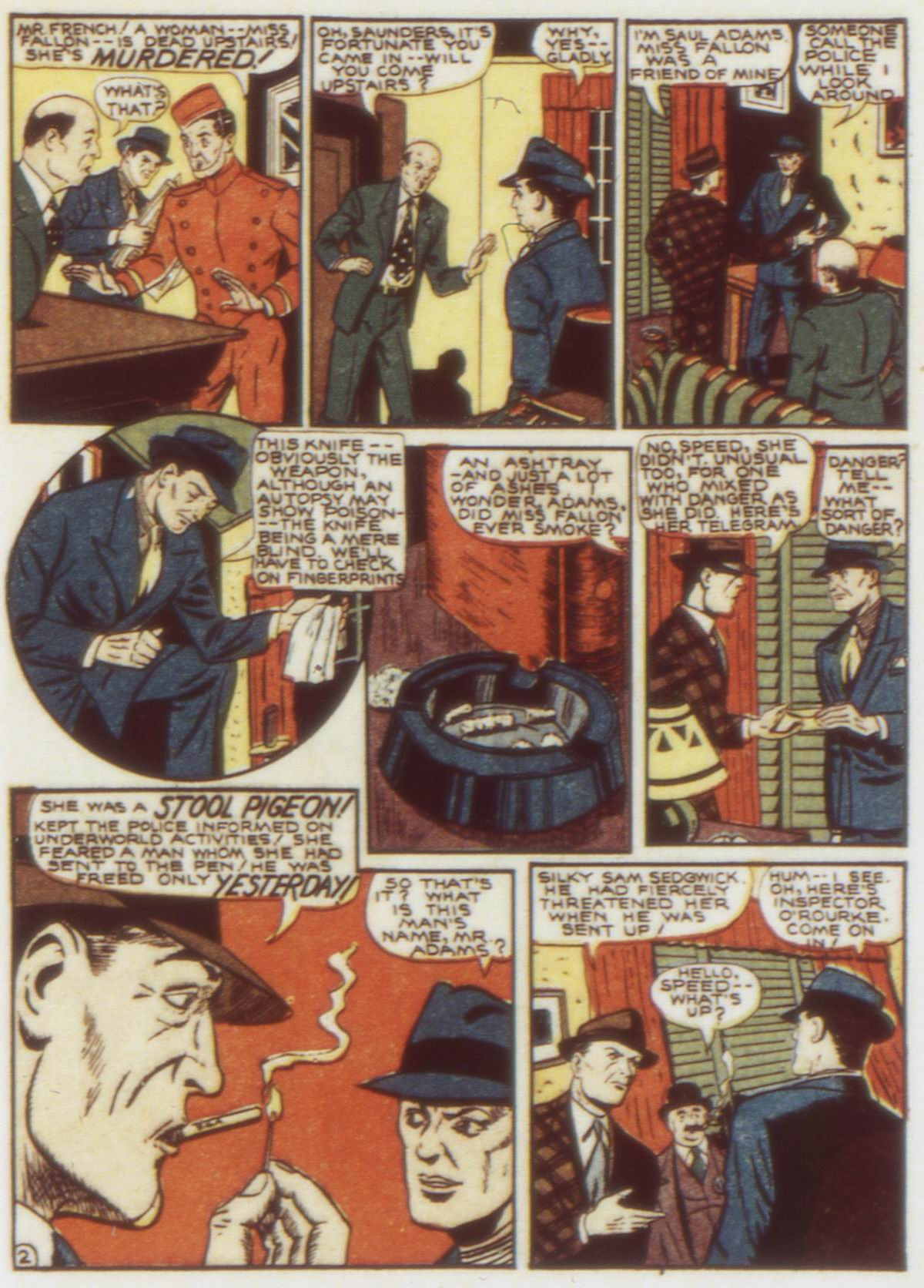 Read online Detective Comics (1937) comic -  Issue #58 - 39
