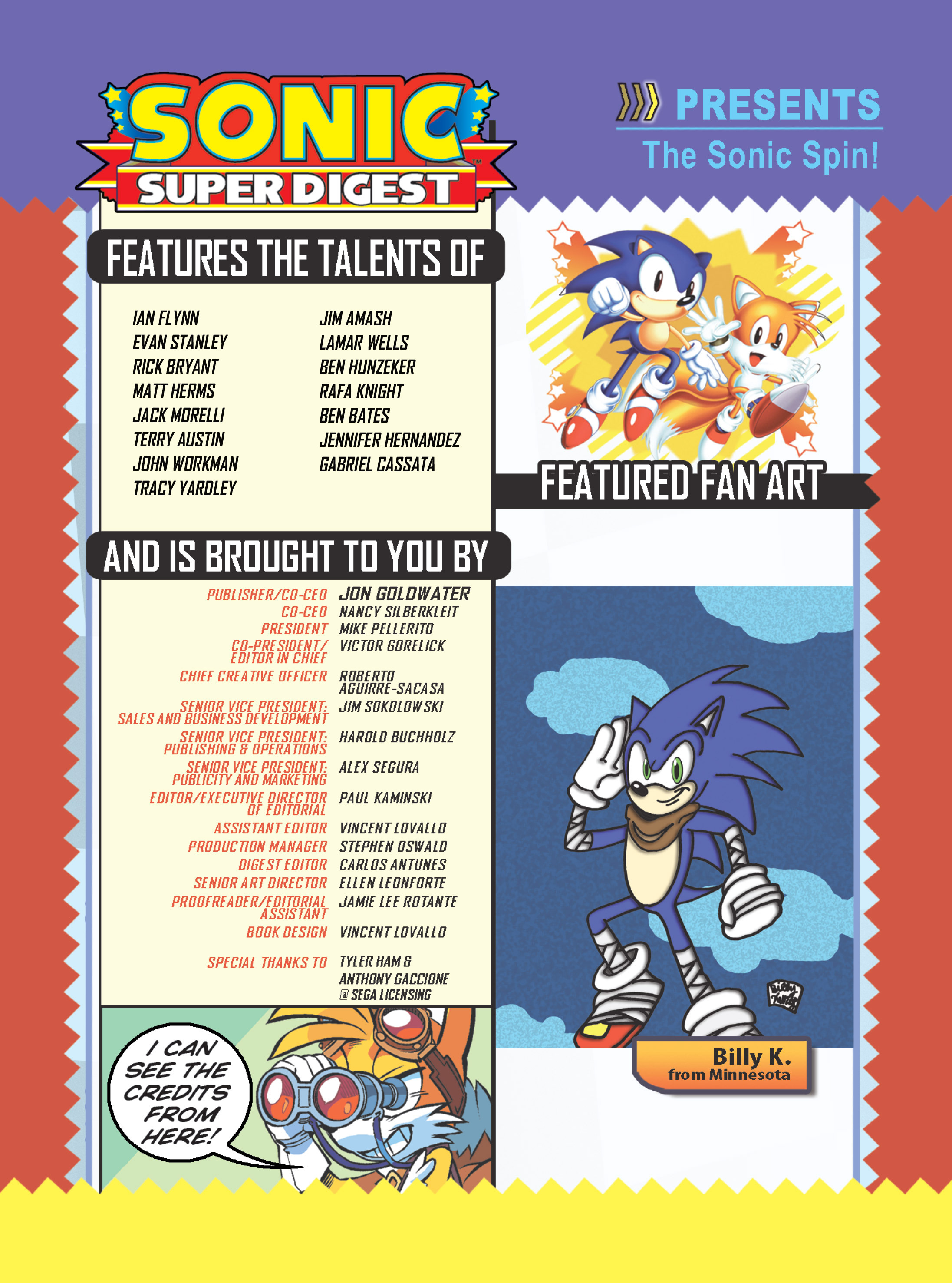 Read online Sonic Super Digest comic -  Issue #10 - 115