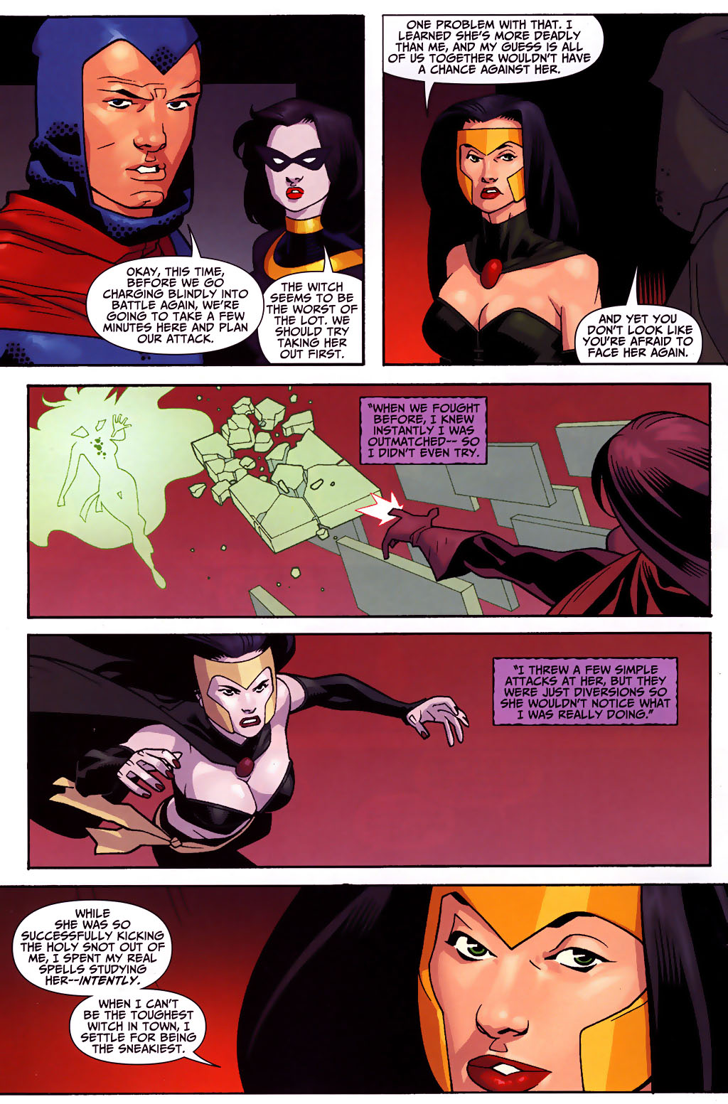 Read online Shadowpact comic -  Issue #3 - 13