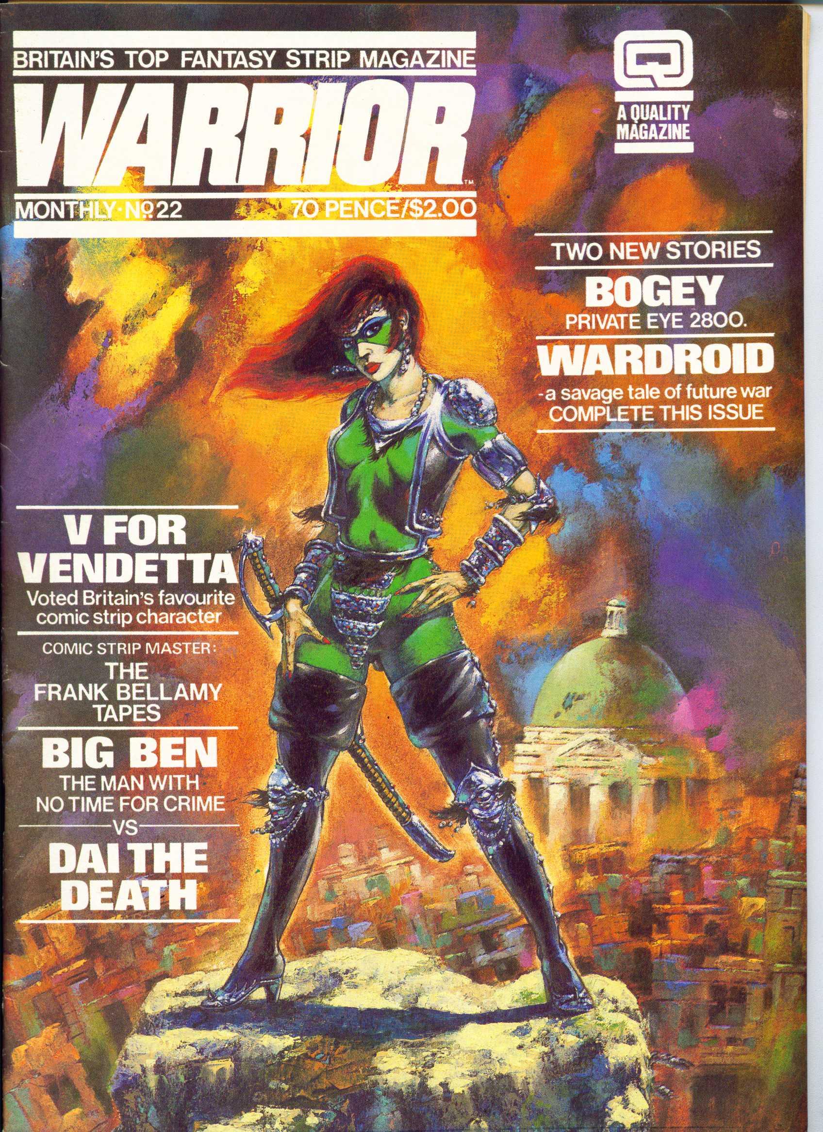 Warrior 22 Page 1