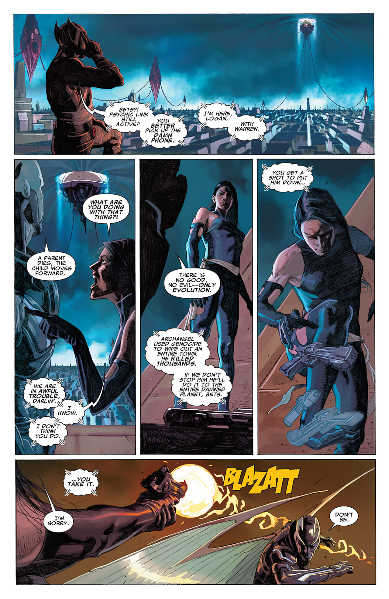 Read online Uncanny X-Force (2010) comic -  Issue #16 - 15