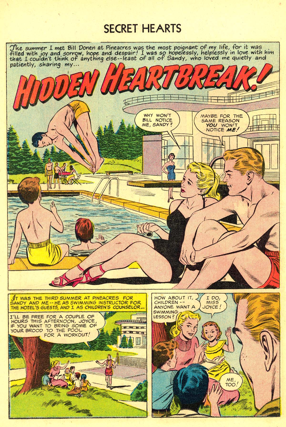 Read online Secret Hearts comic -  Issue #34 - 18