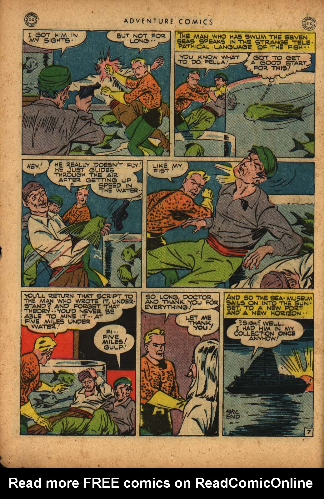 Read online Adventure Comics (1938) comic -  Issue #109 - 16