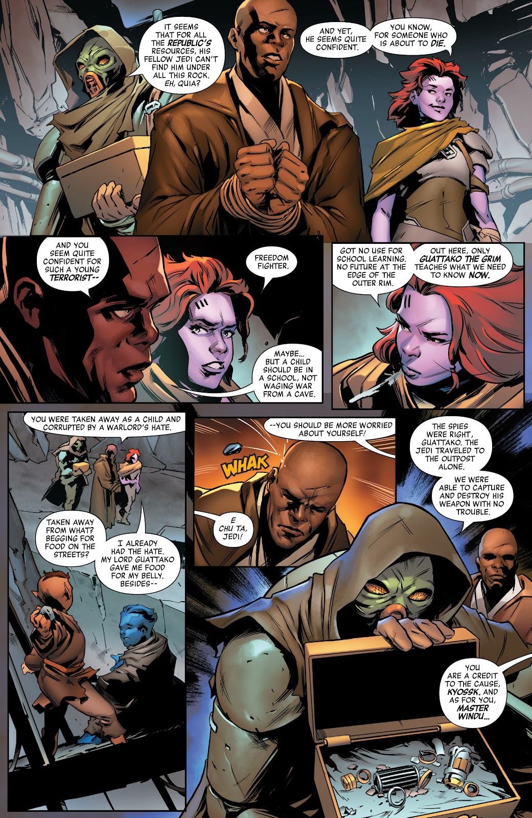 Read online Star Wars: Age of Republic Special comic -  Issue # Full - 4