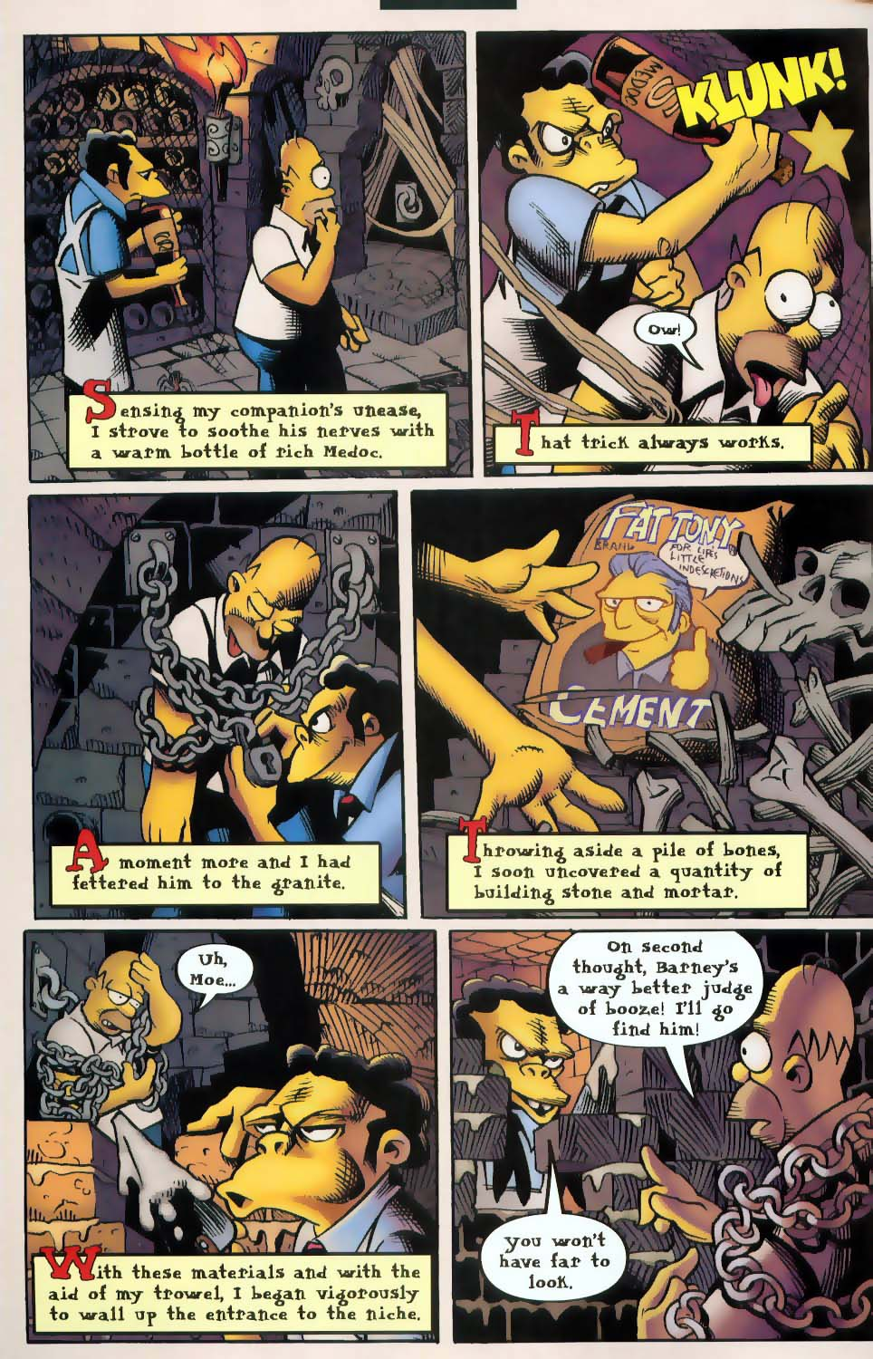 Read online Treehouse of Horror comic -  Issue #9 - 28