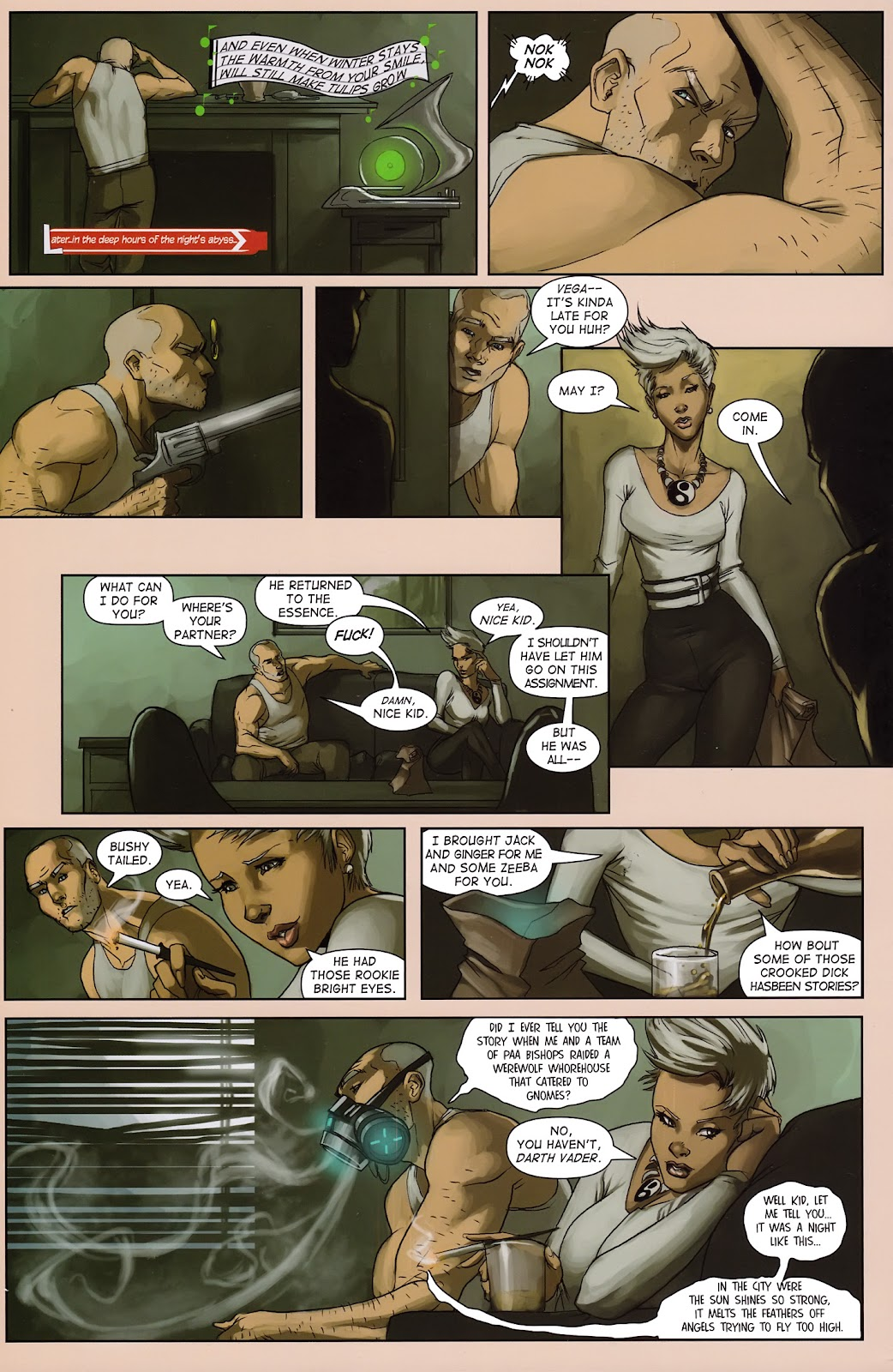 Read online Vescell comic -  Issue #3 - 28
