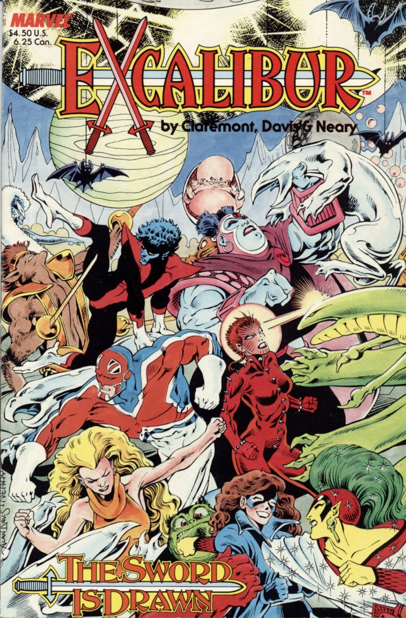 Read online Excalibur: The Sword is Drawn comic -  Issue # Full - 52