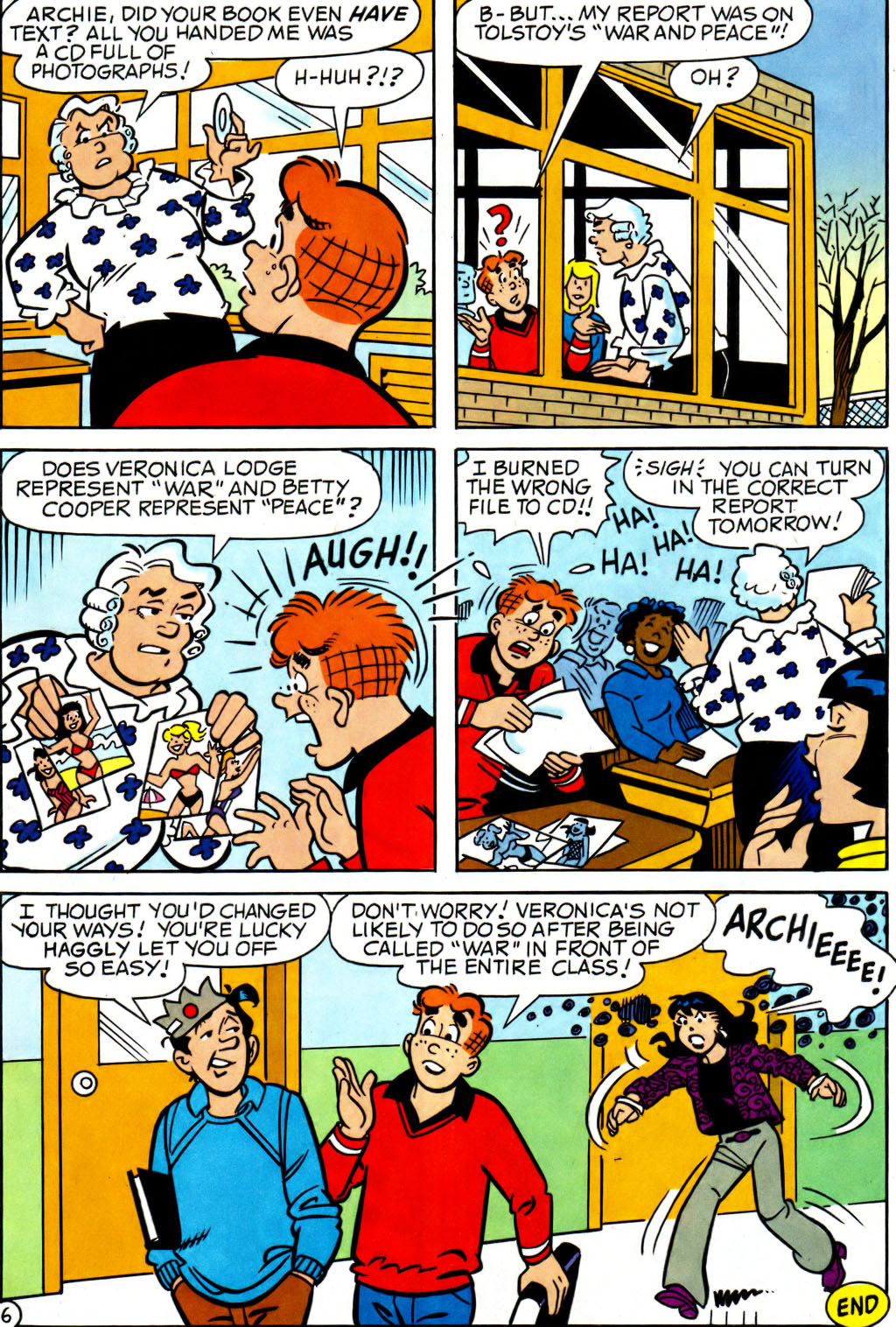 Read online Archie (1960) comic -  Issue #562 - 23