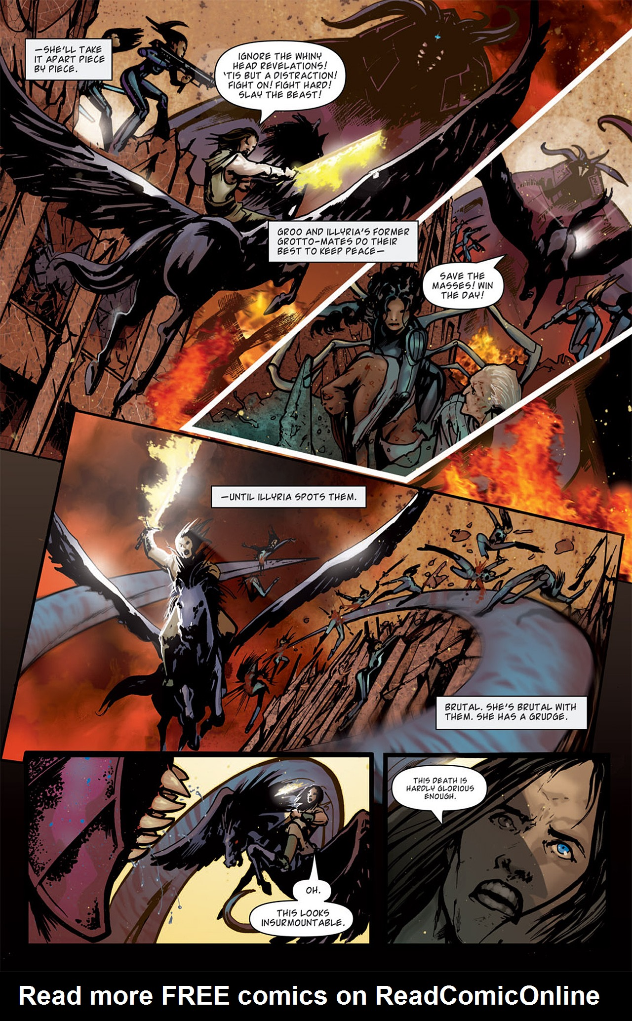 Read online Angel: After The Fall comic -  Issue #15 - 6