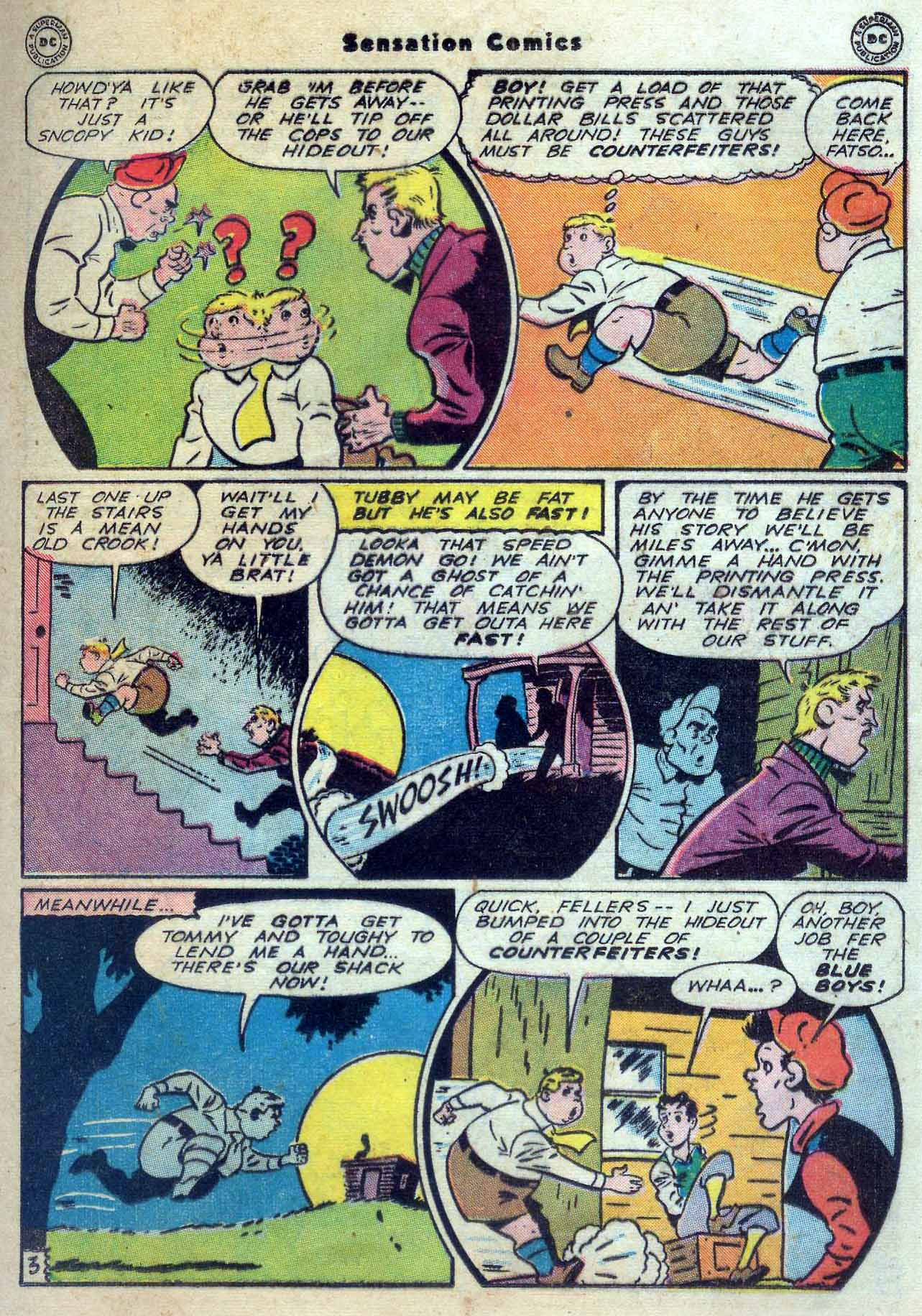 Read online Sensation (Mystery) Comics comic -  Issue #56 - 19