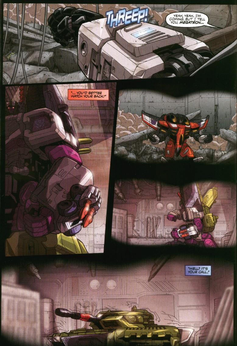 Read online Transformers Armada comic -  Issue #7 - 6