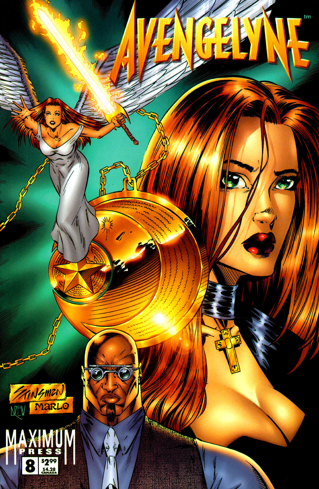 Read online Avengelyne (1996) comic -  Issue #8 - 1