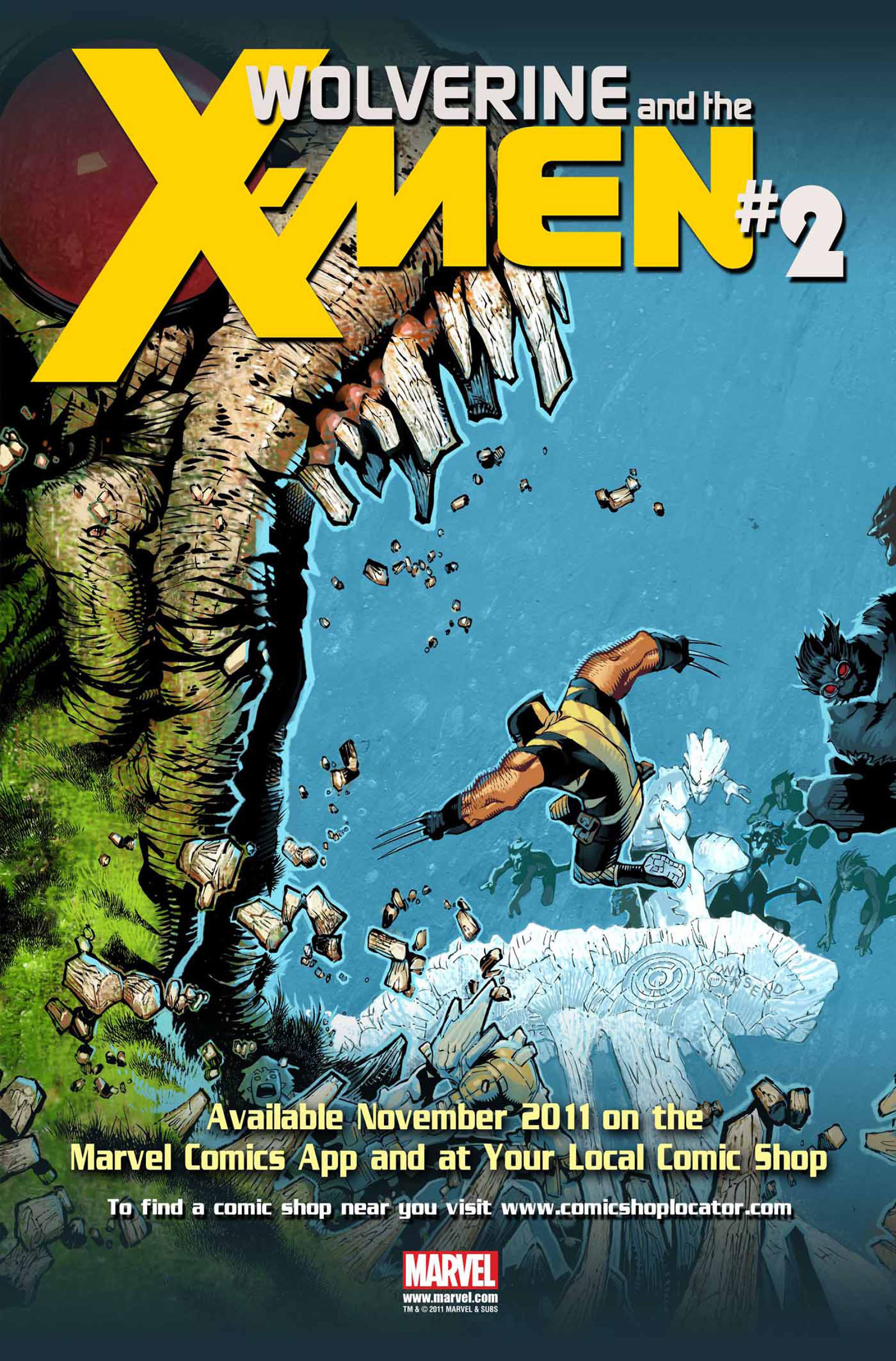 Wolverine & The X-Men 2 Page 1