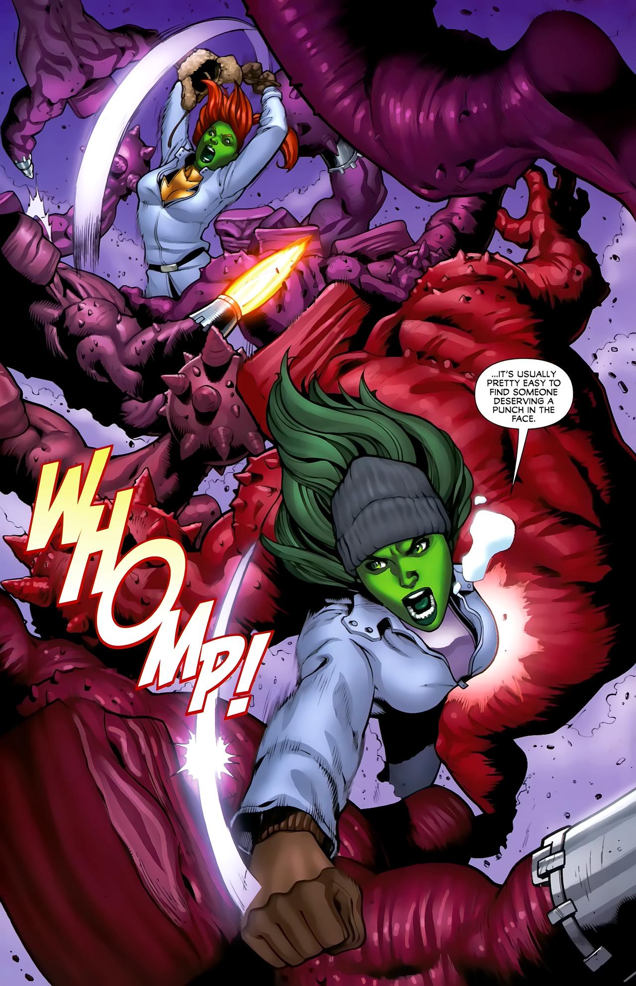 Read online She-Hulks comic -  Issue #3 - 19