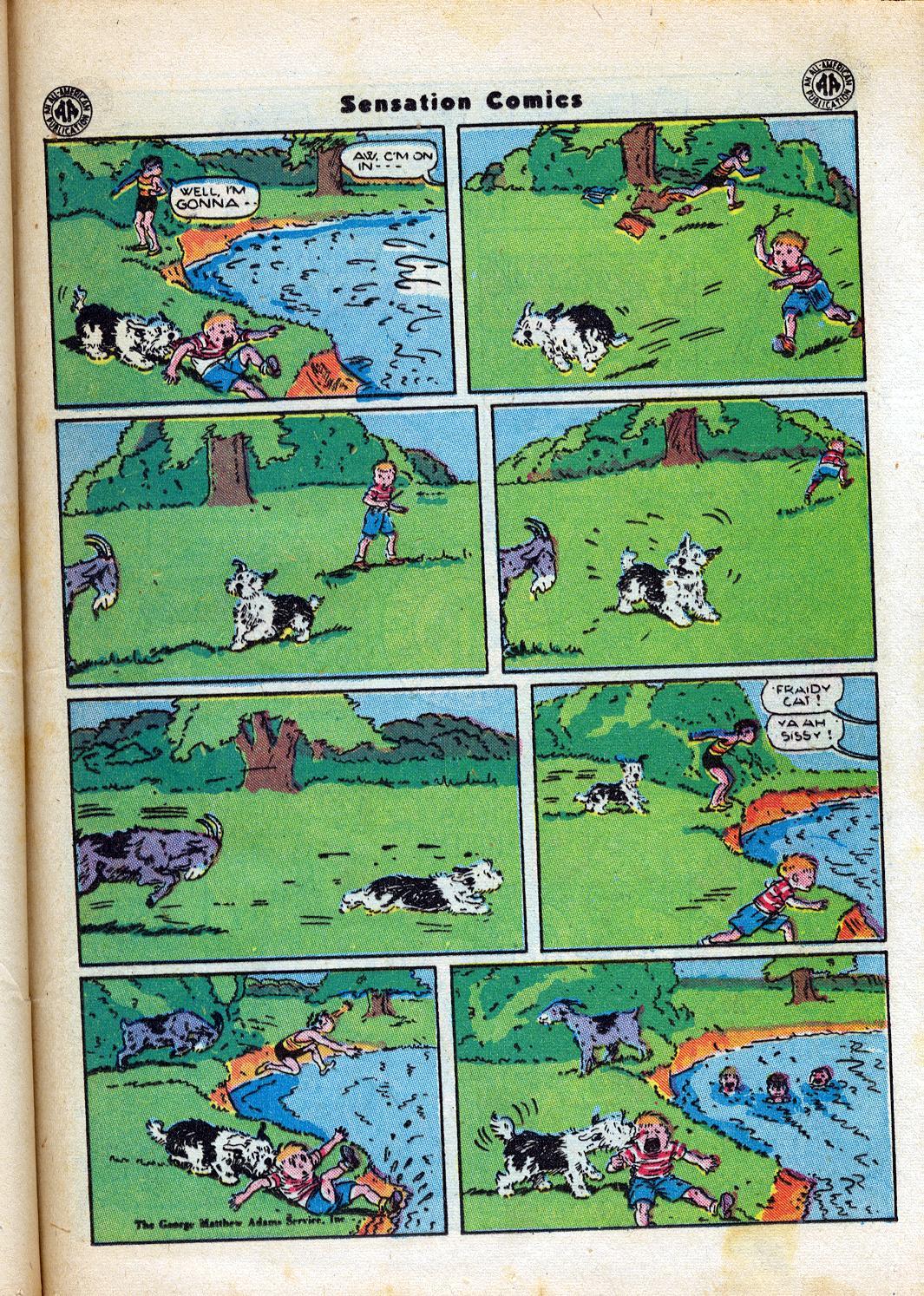 Read online Sensation (Mystery) Comics comic -  Issue #47 - 37