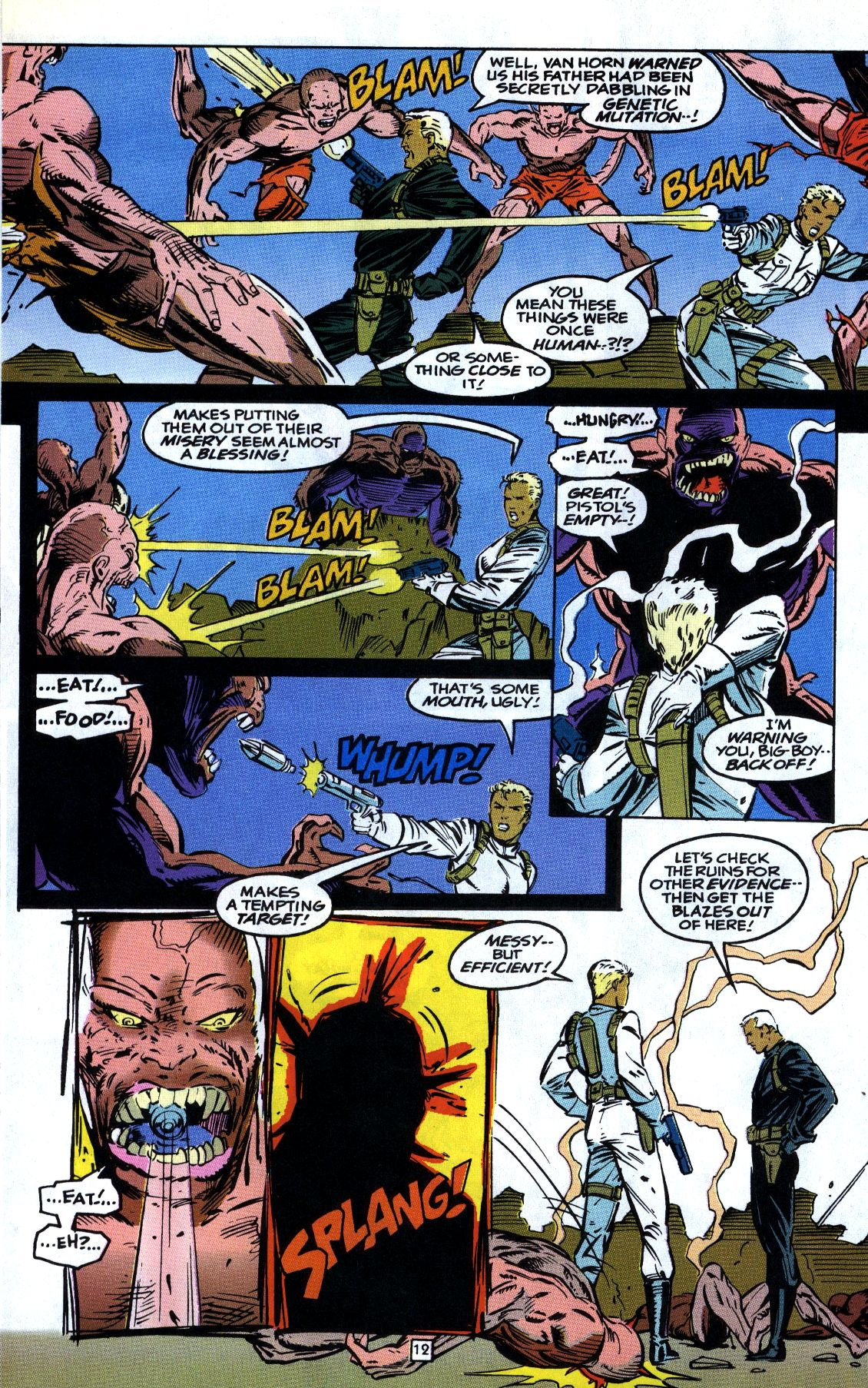Read online Gunfire comic -  Issue #7 - 16