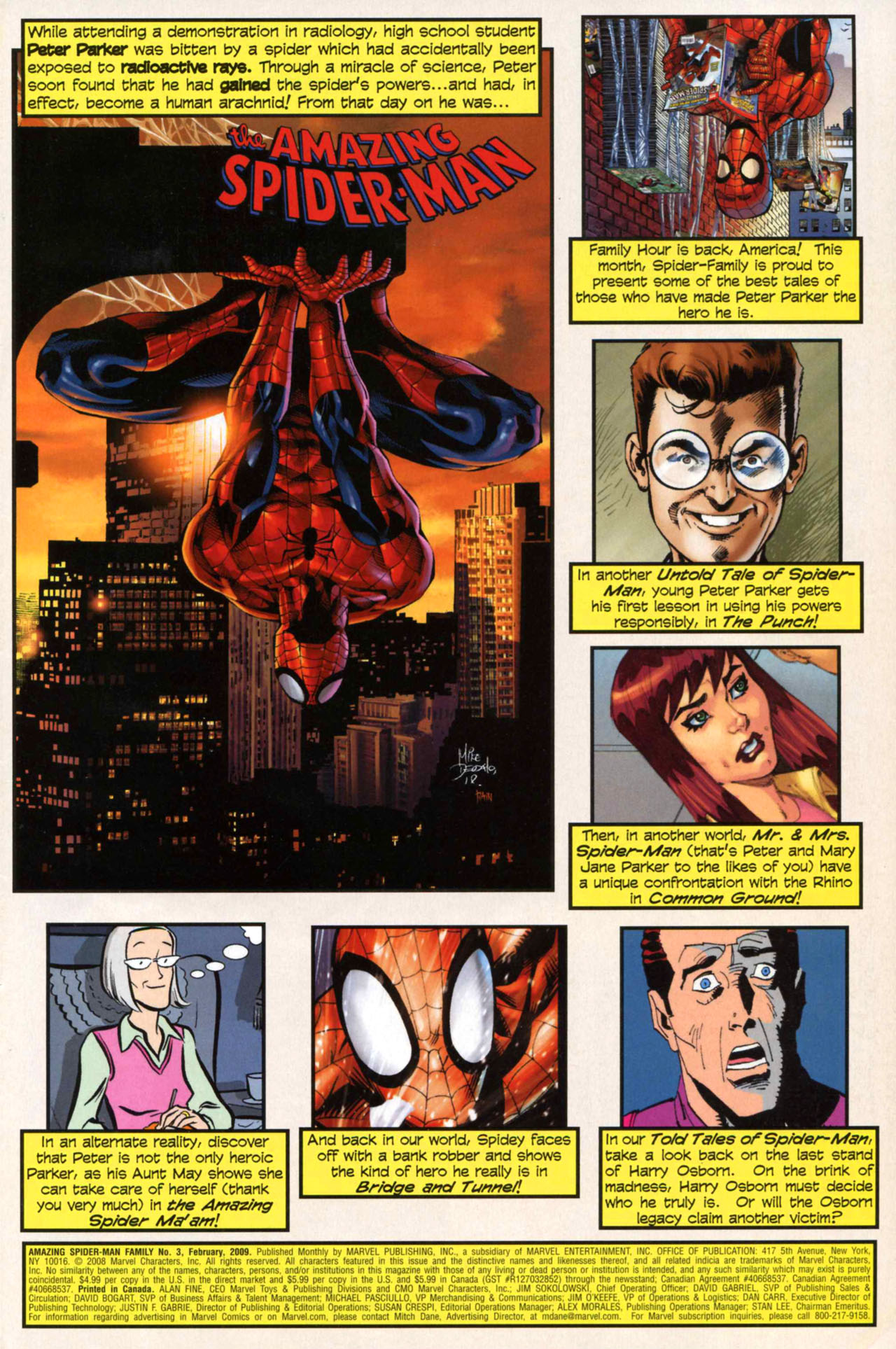 Read online Amazing Spider-Man Family comic -  Issue #3 - 2