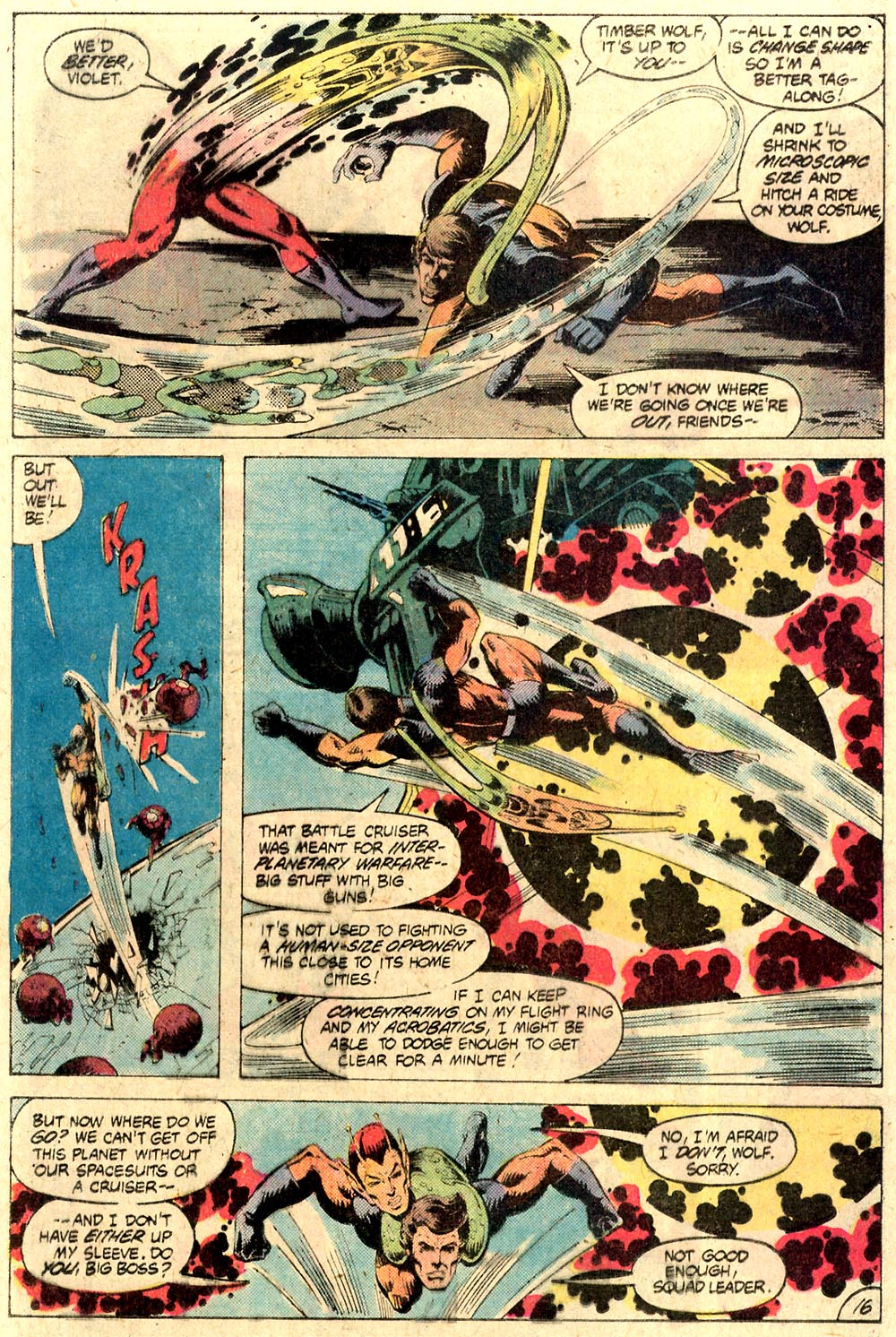 Legion of Super-Heroes (1980) 287 Page 16