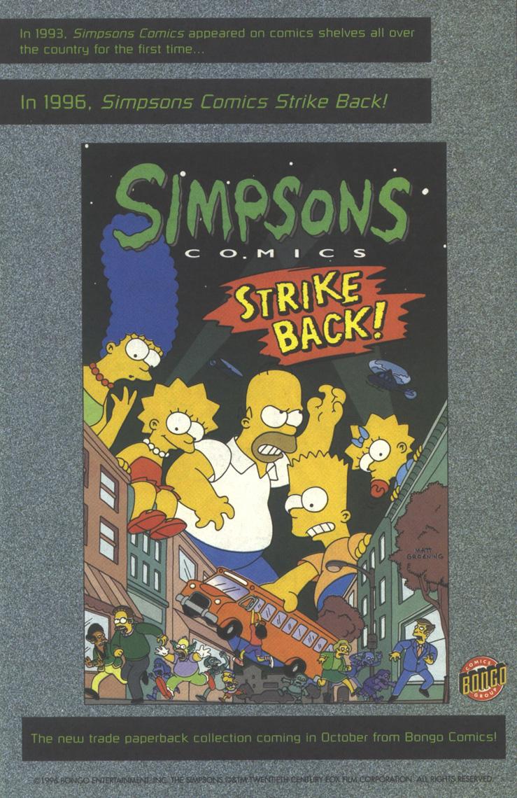 Read online Simpsons Comics comic -  Issue #25 - 31