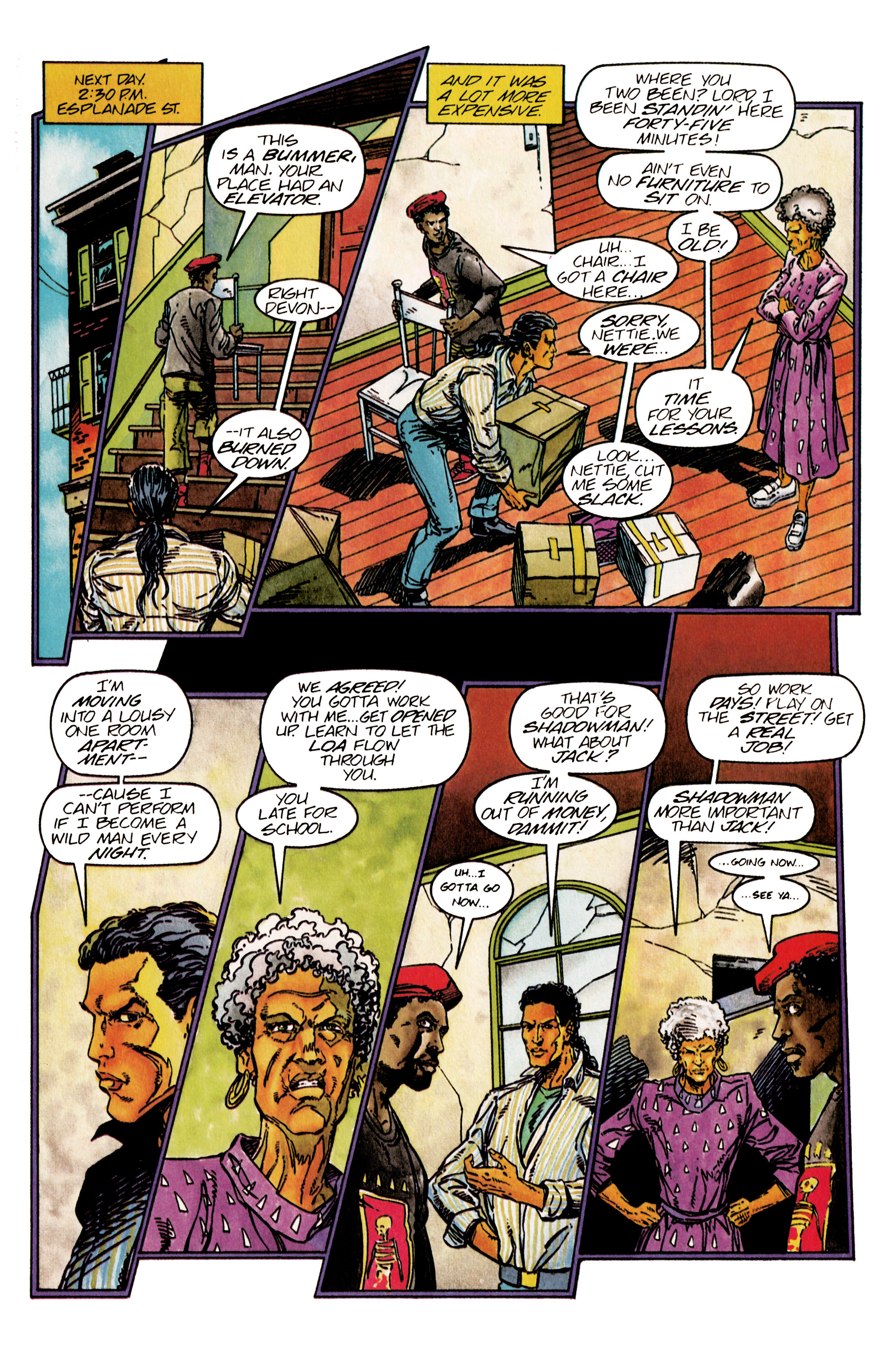 Read online Shadowman (1992) comic -  Issue #26 - 7