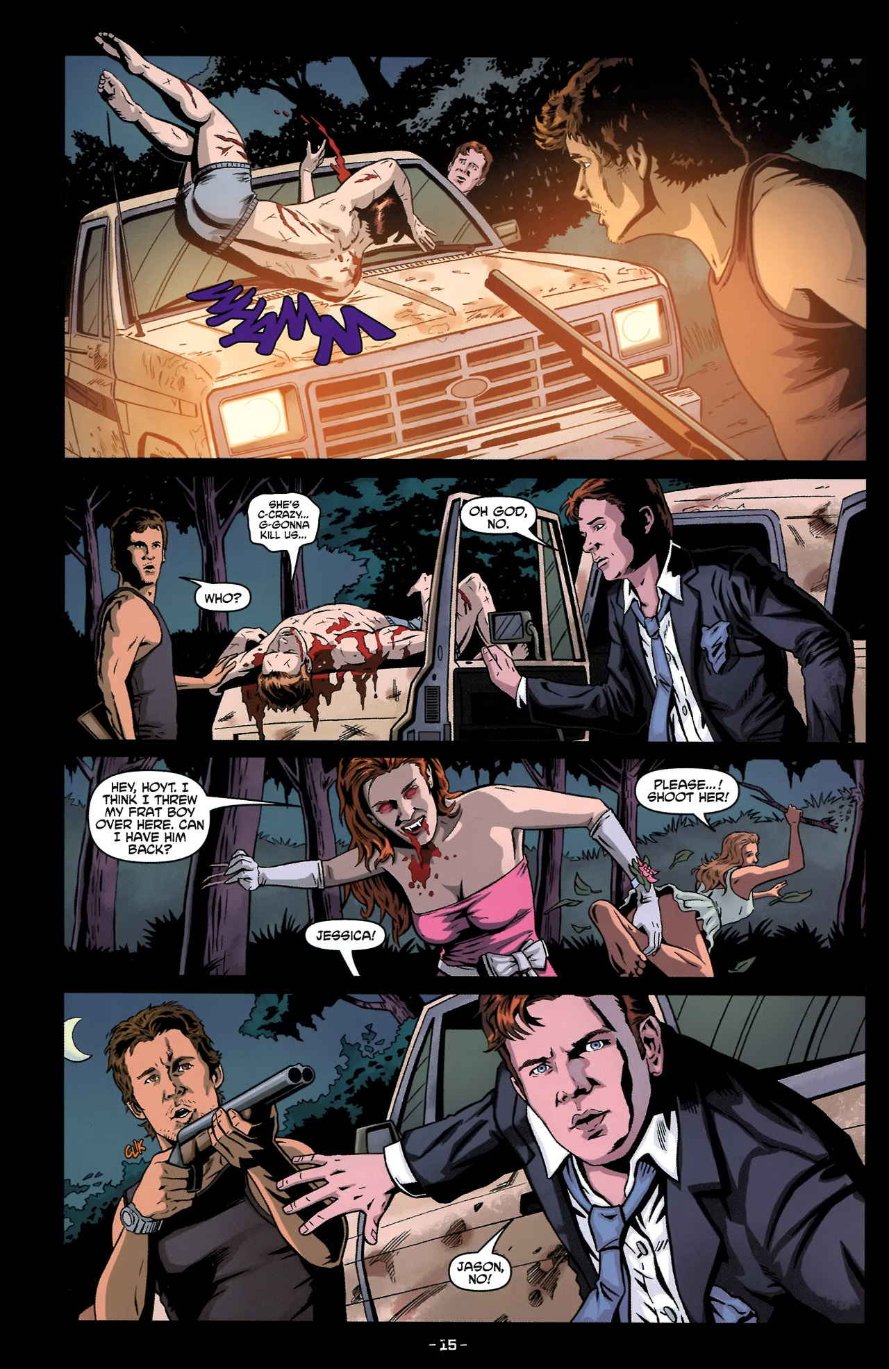 Read online True Blood: Tainted Love comic -  Issue #2 - 19