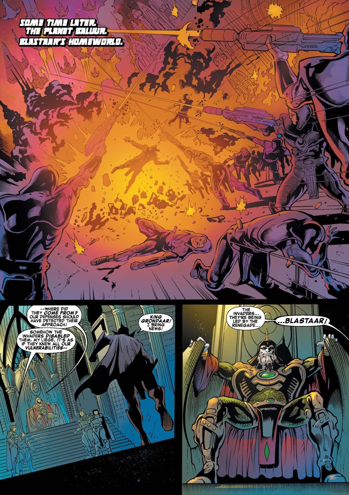 War of Kings: Warriors - Blastaar Issue #1 #1 - English 7