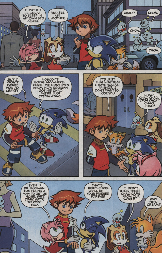Read online Sonic X comic -  Issue #5 - 22