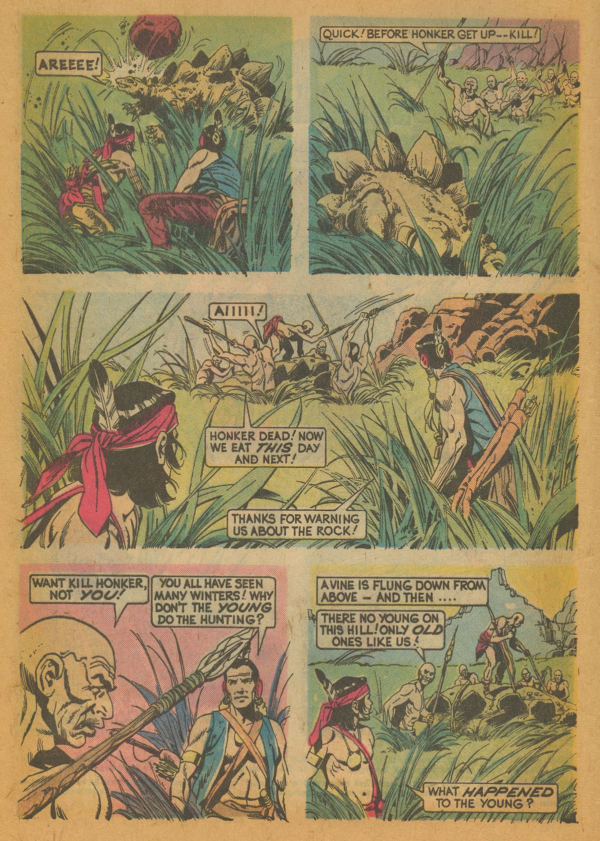 Read online Turok, Son of Stone comic -  Issue #112 - 4