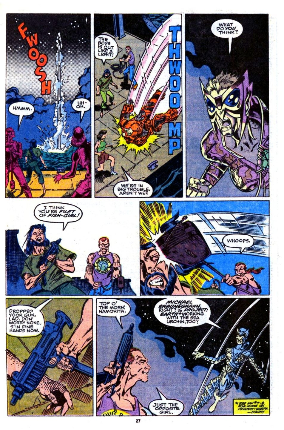The New Warriors Issue #14 #18 - English 23