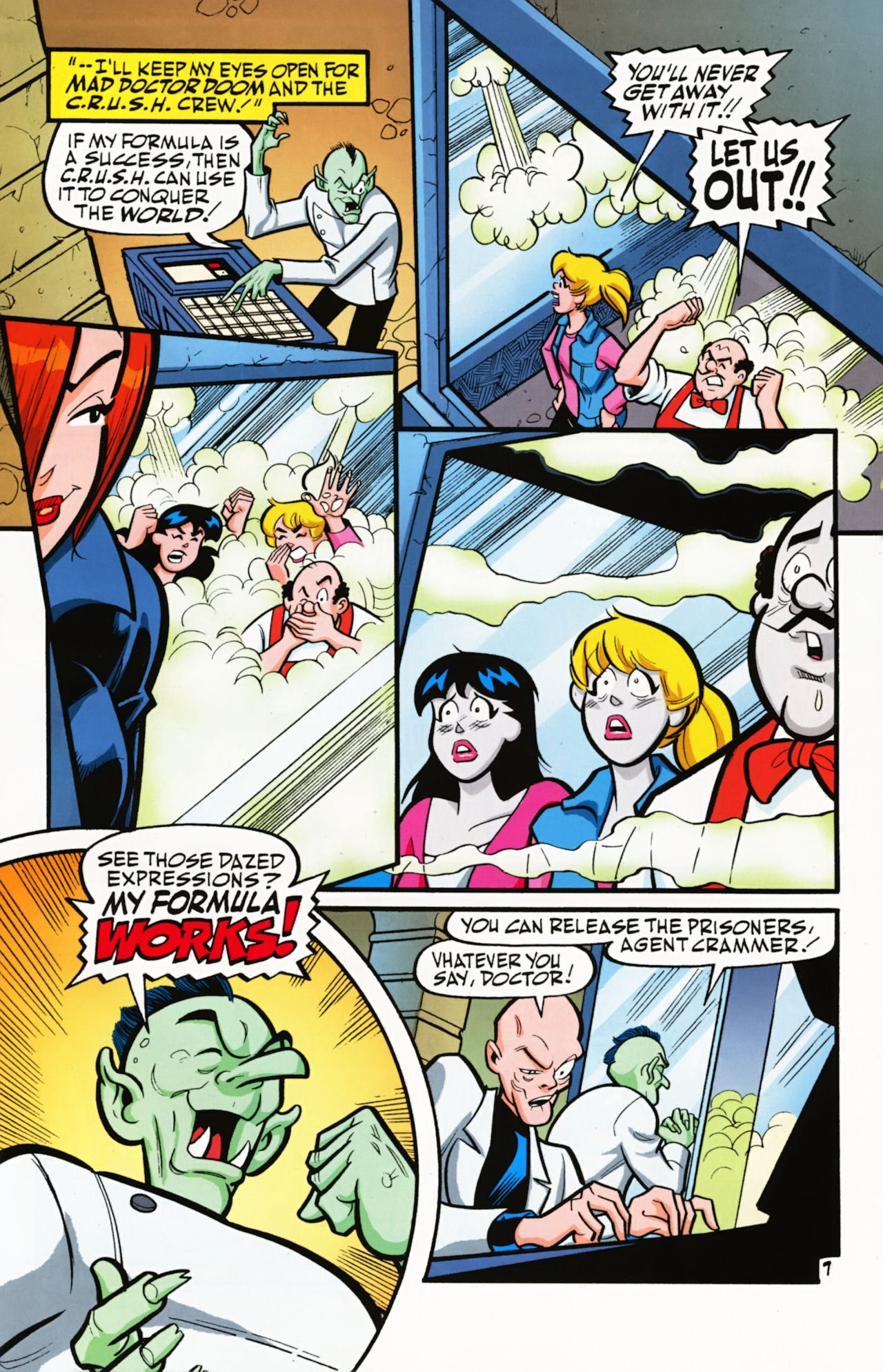 Read online Archie (1960) comic -  Issue #611 - 11