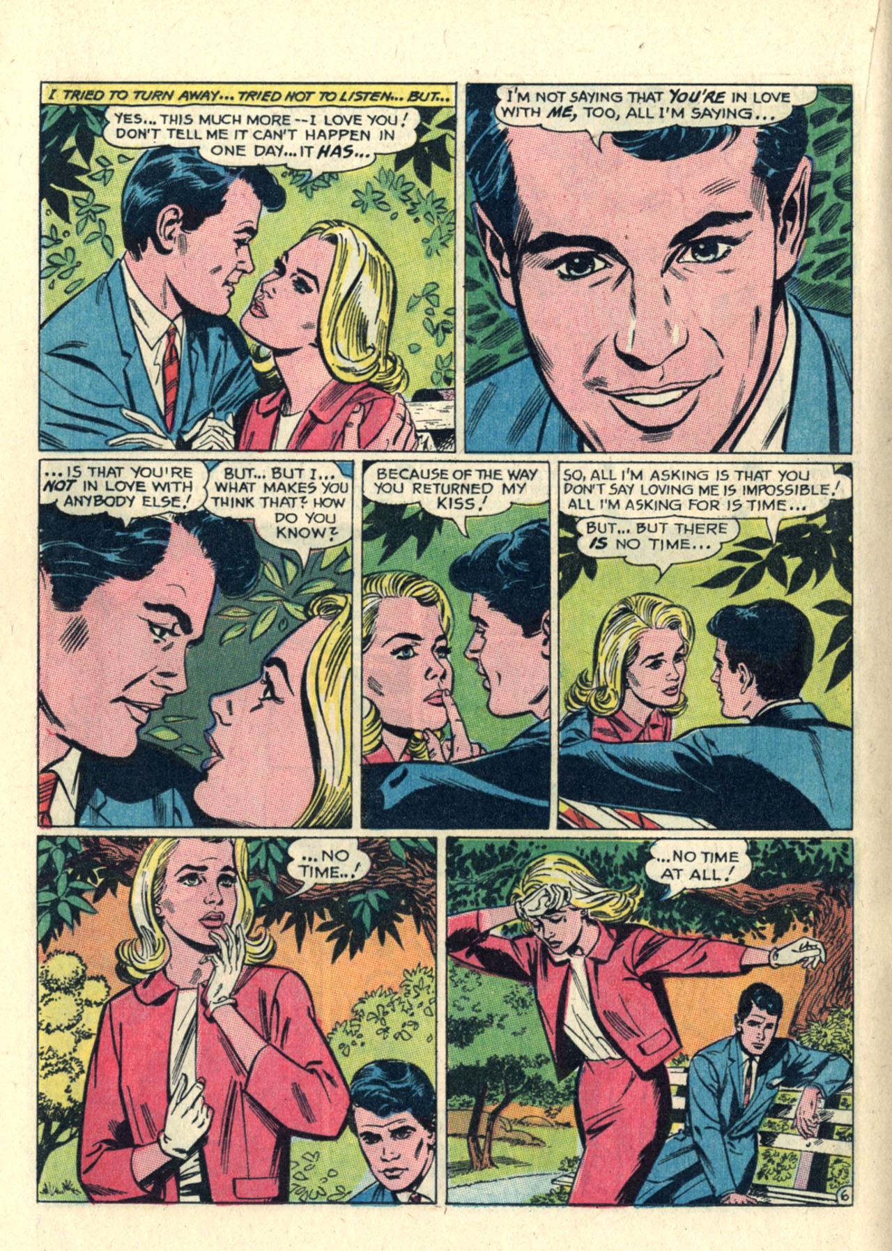 Read online Secret Hearts comic -  Issue #112 - 16